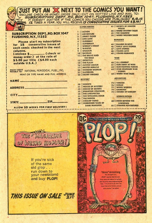 Read online Secret Origins (1973) comic -  Issue #4 - 13