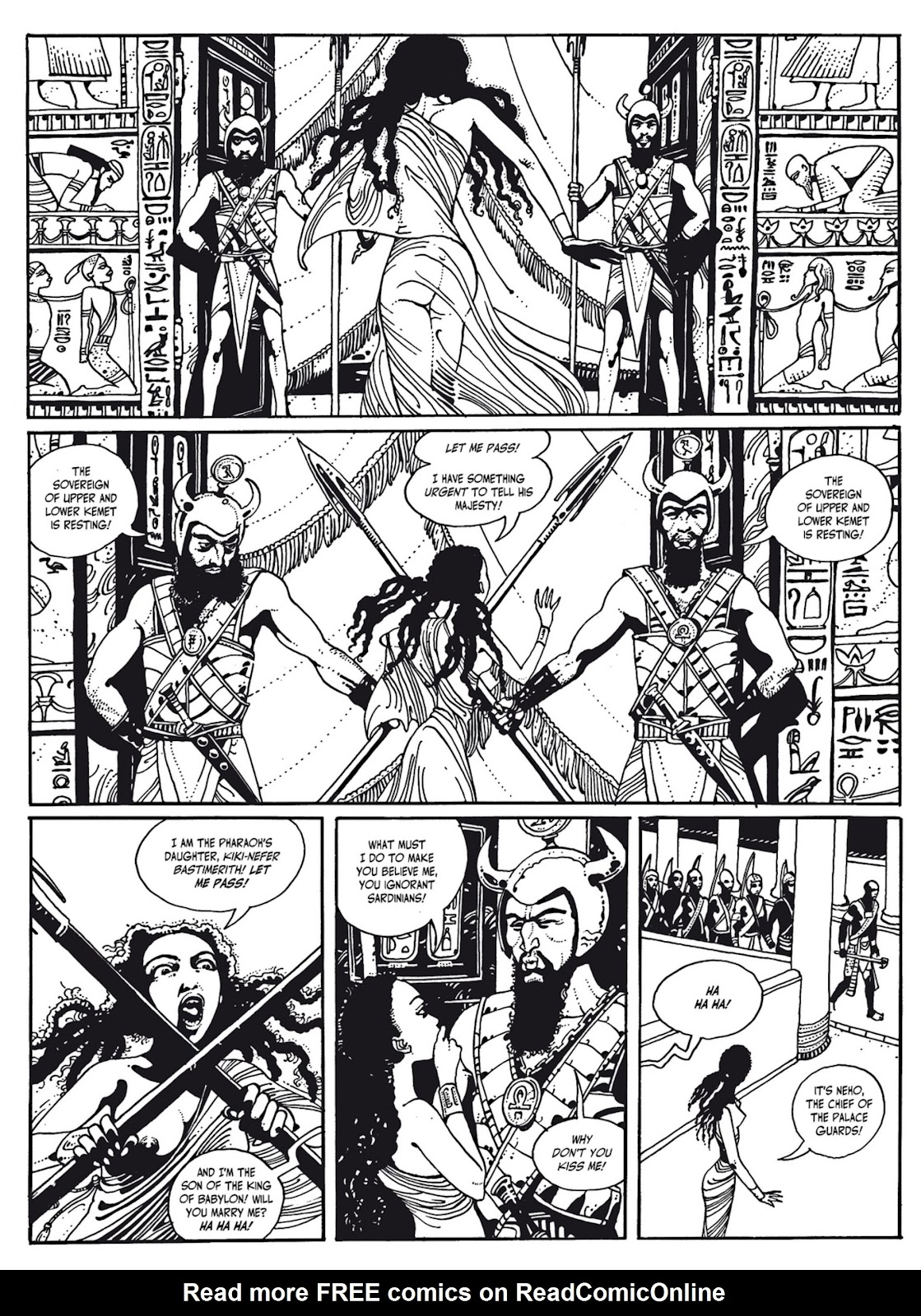 Read online The Egyptian Princesses comic -  Issue # TPB 1 (Part 3) - 38
