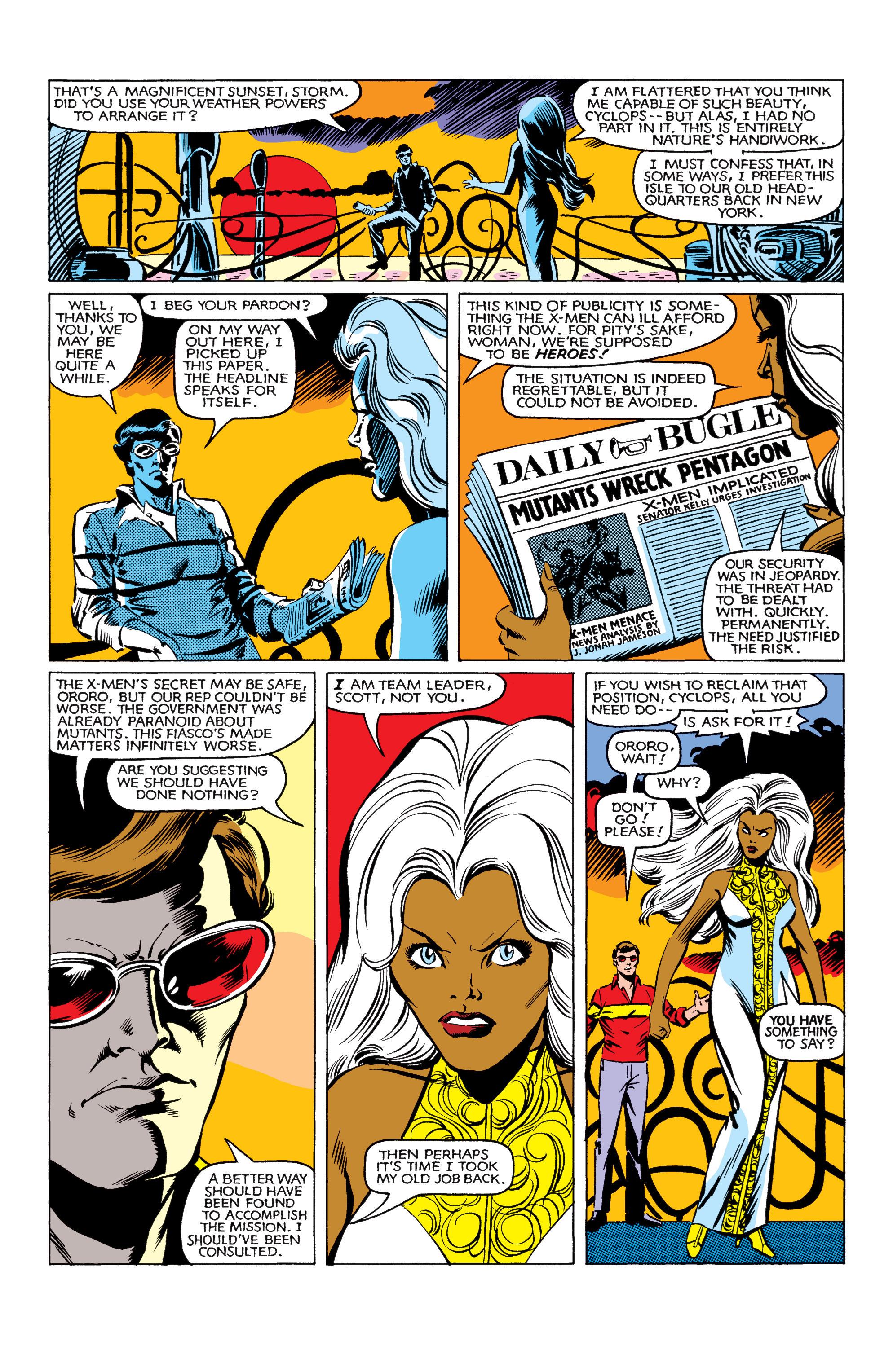 Read online Uncanny X-Men (1963) comic -  Issue #161 - 4