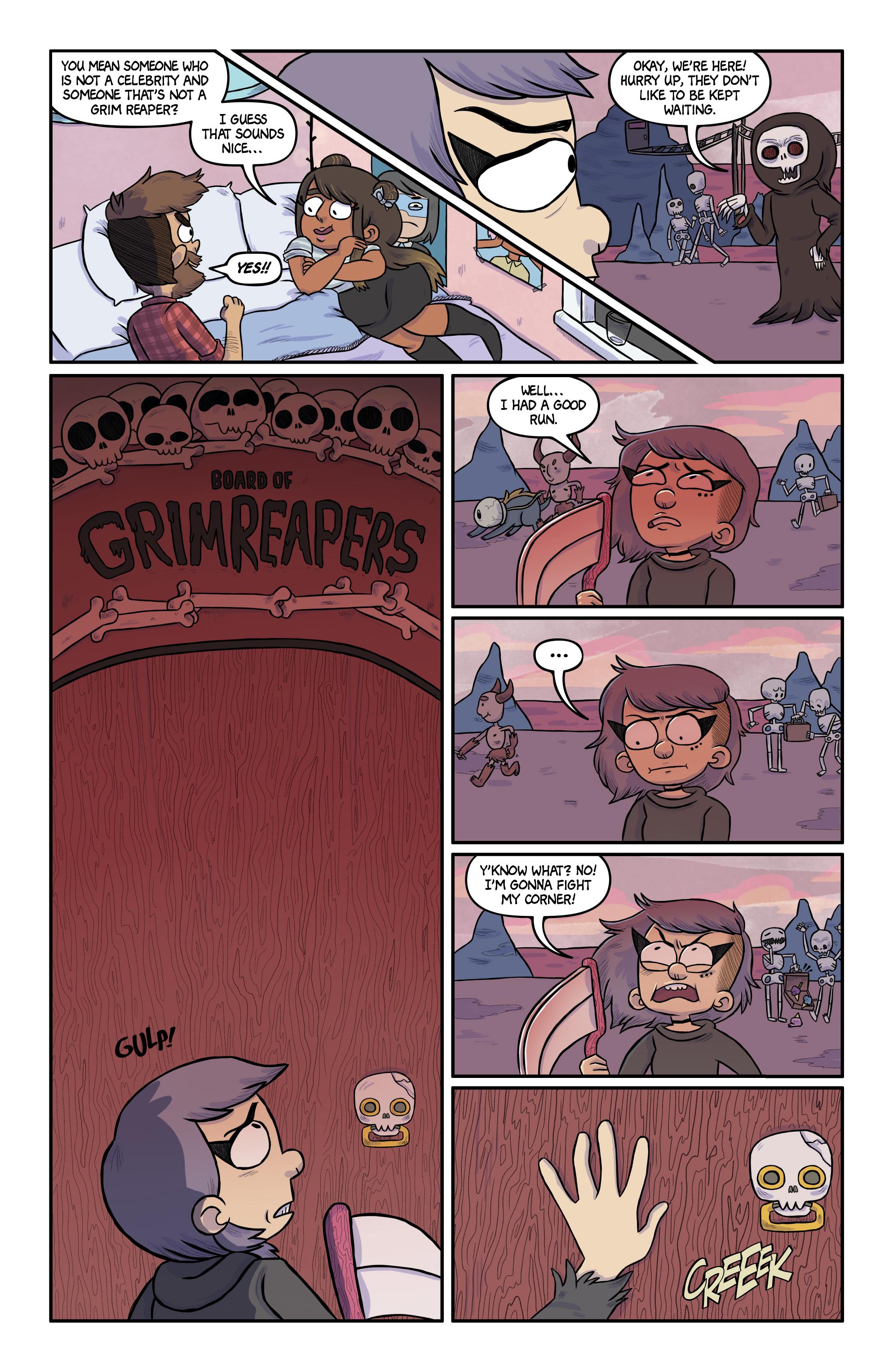 Read online Kim Reaper comic -  Issue #3 - 5
