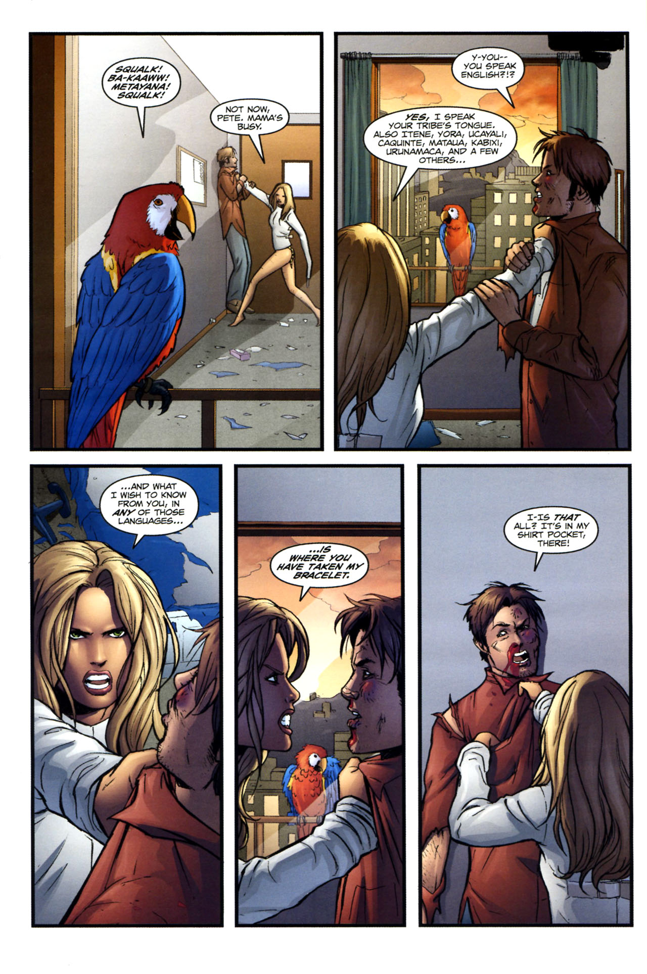 Read online Sheena, Queen of the Jungle comic -  Issue #2 - 18