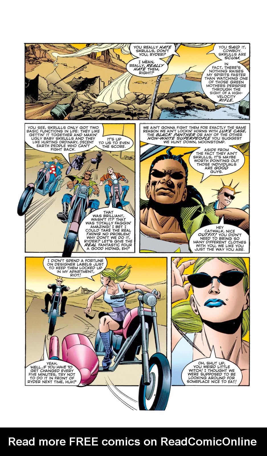 Read online Skrull Kill Krew (1995) comic -  Issue #4 - 22