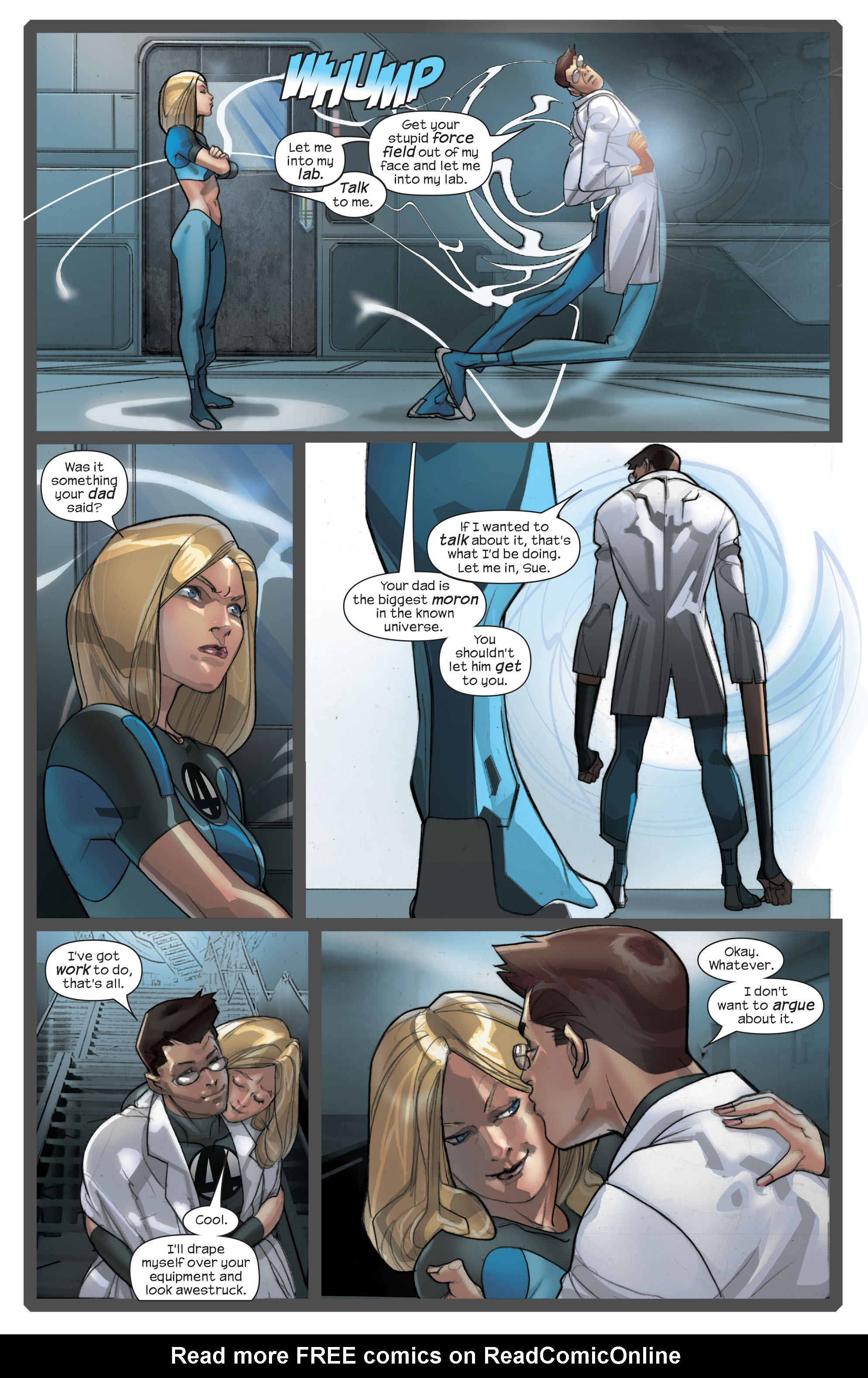 Read online Ultimate Fantastic Four (2004) comic -  Issue #42 - 6