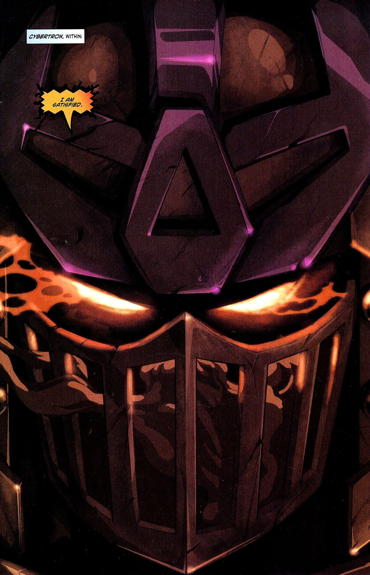 """Read online Transformers War Within: """"The Dark Ages"""" comic -  Issue #2 - 3"""