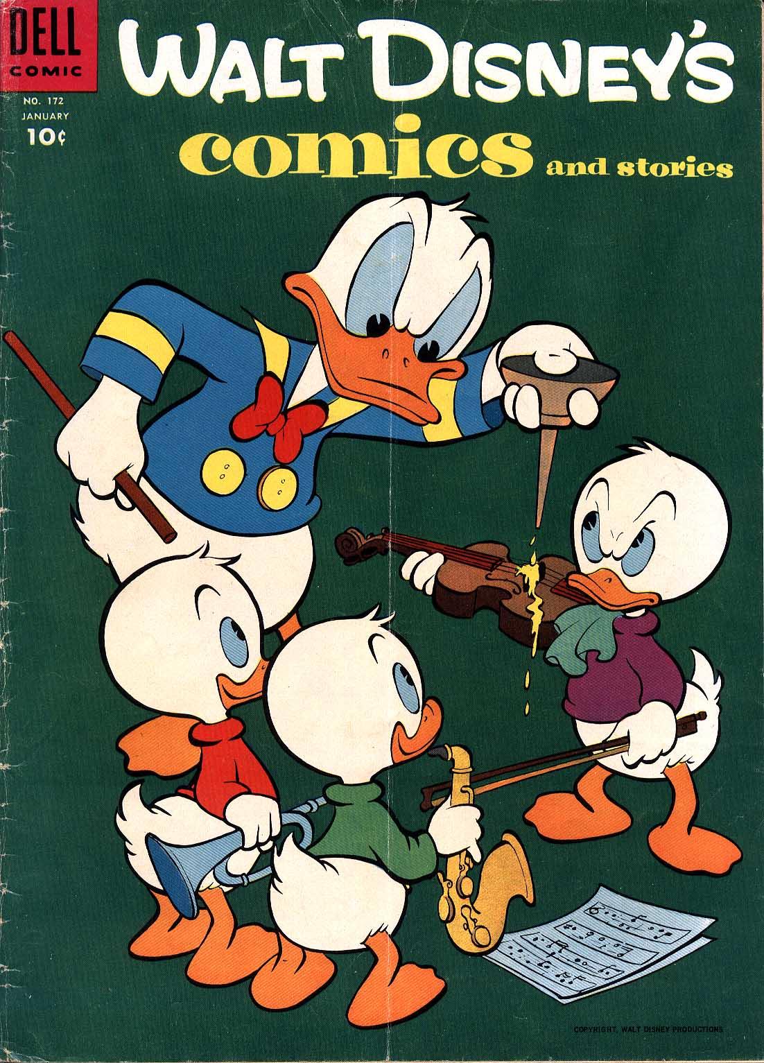Walt Disneys Comics and Stories 172 Page 1