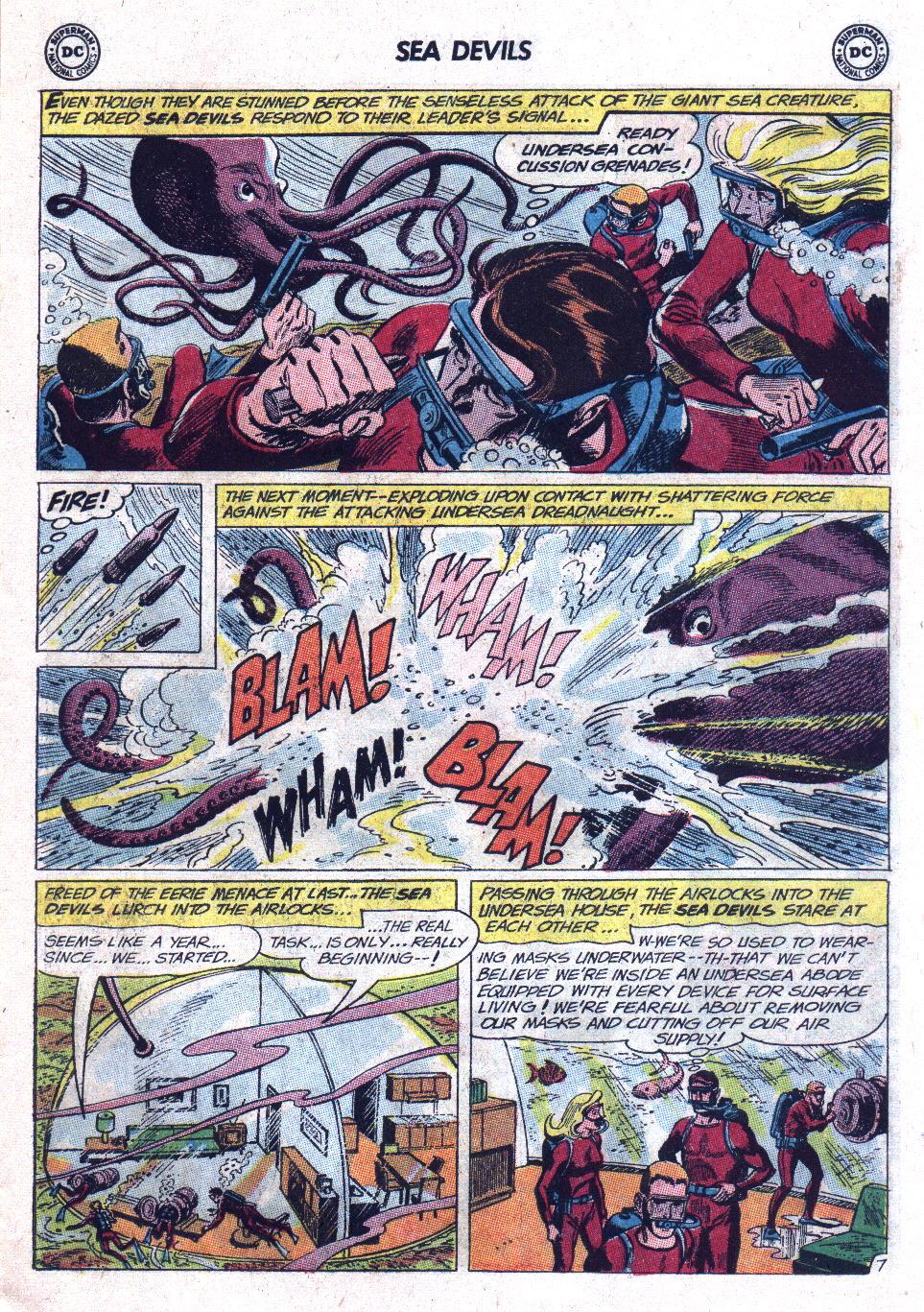 Read online Sea Devils comic -  Issue #11 - 11