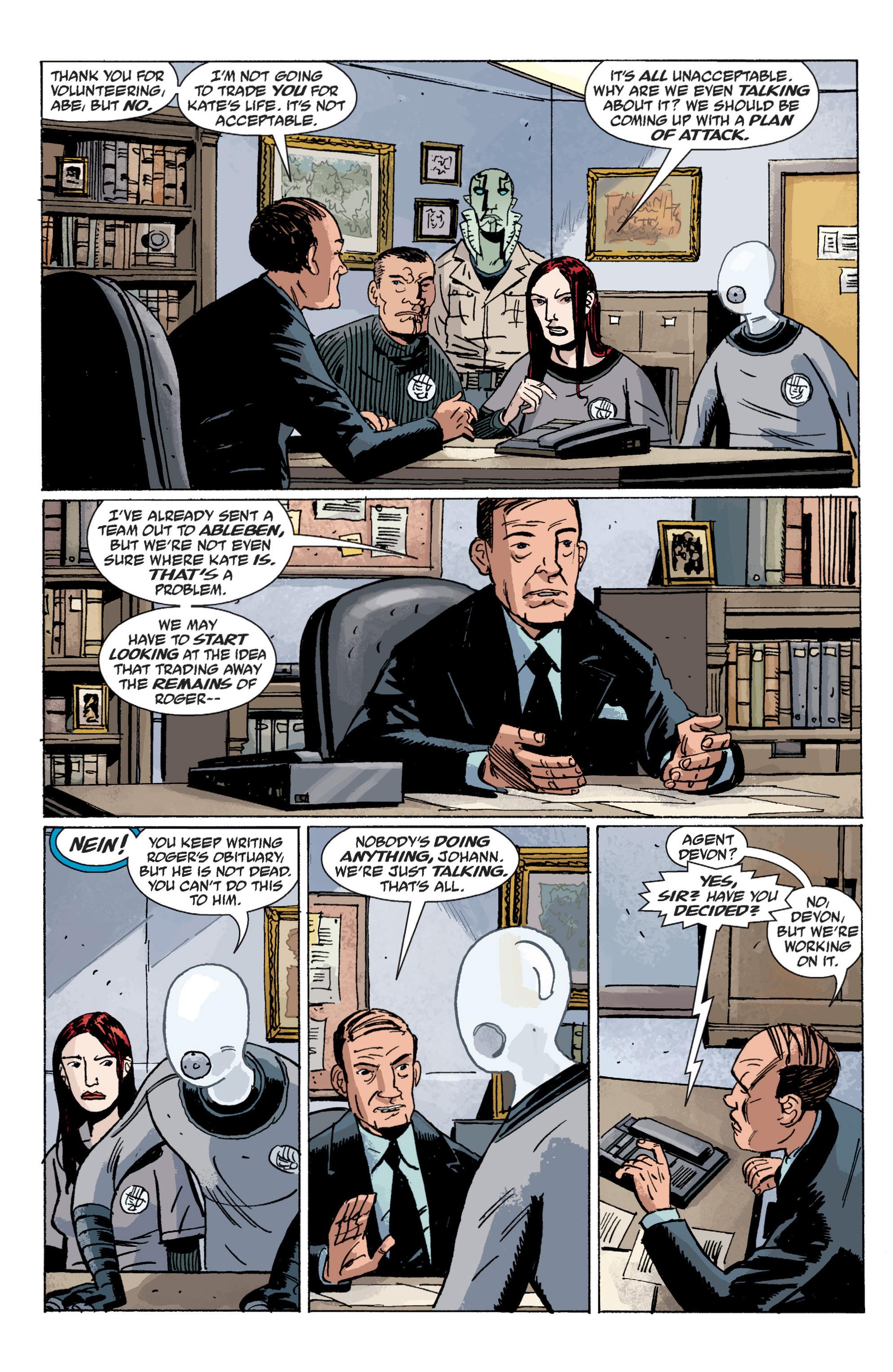 Read online B.P.R.D. (2003) comic -  Issue # TPB 6 - 113