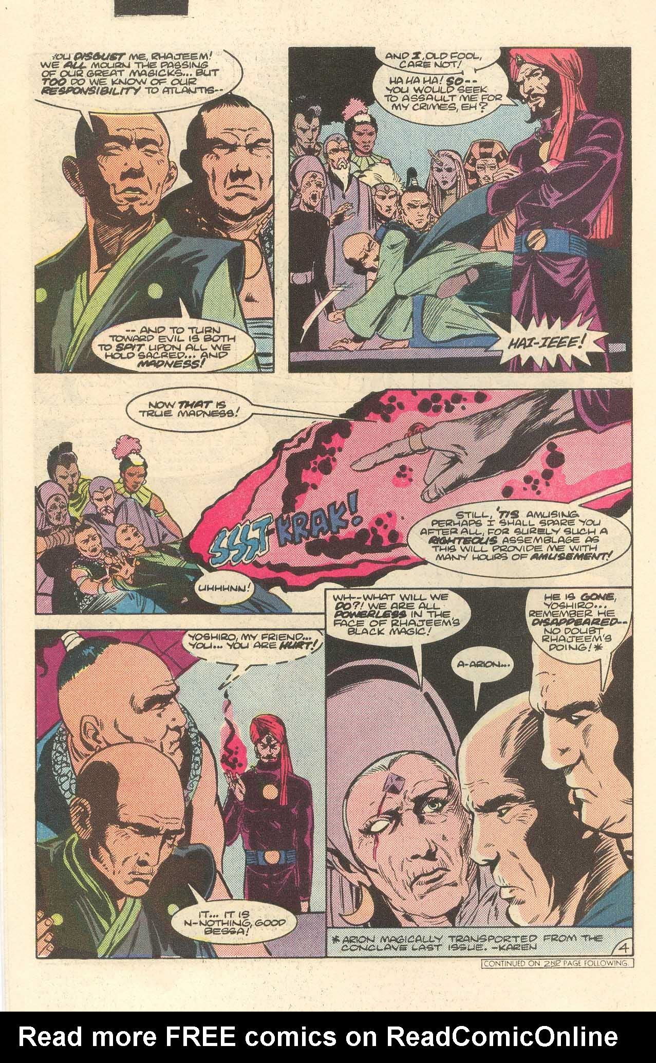 Read online Arion, Lord of Atlantis comic -  Issue #35 - 5