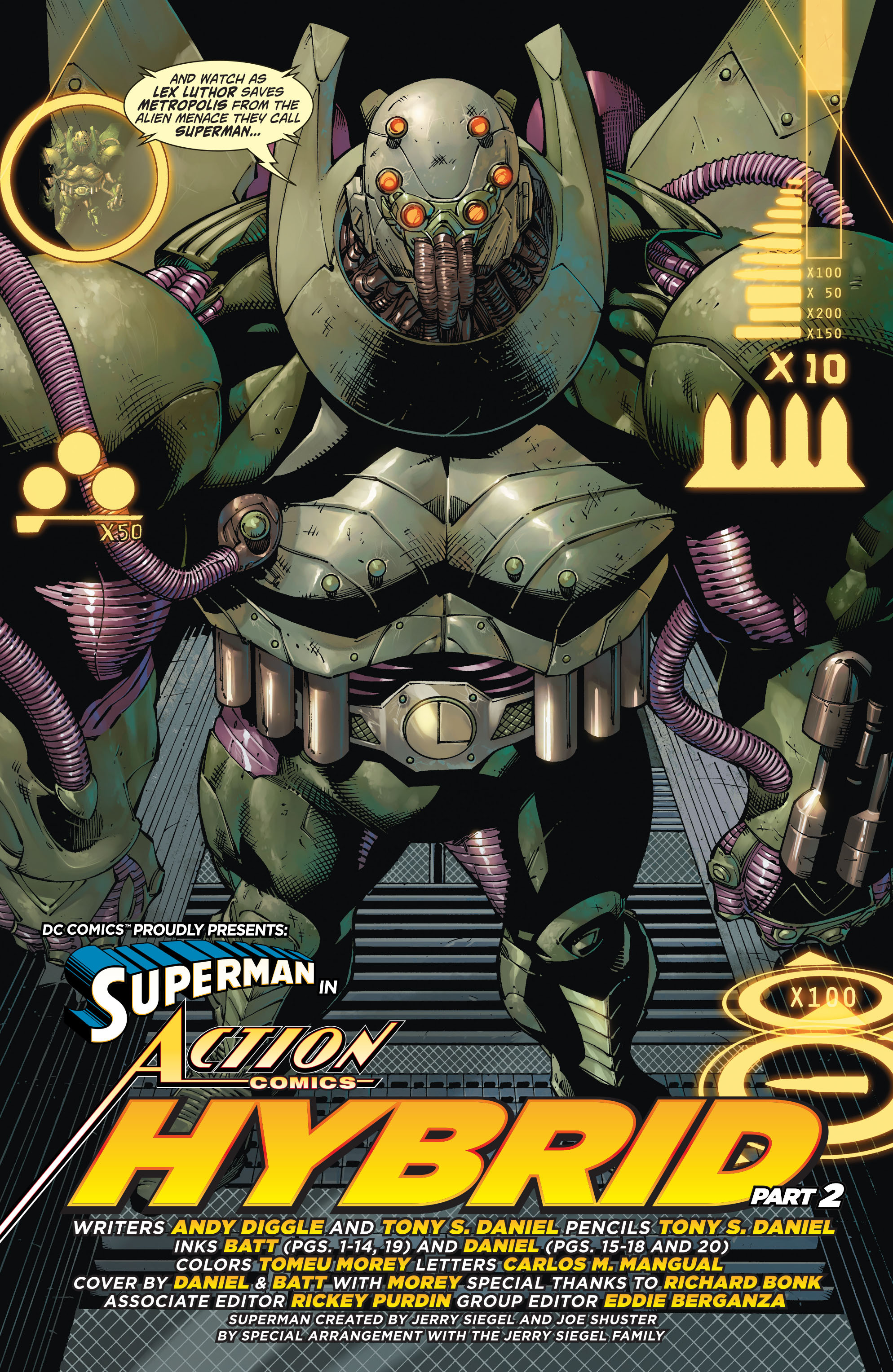 Read online Action Comics (2011) comic -  Issue #20 - 20