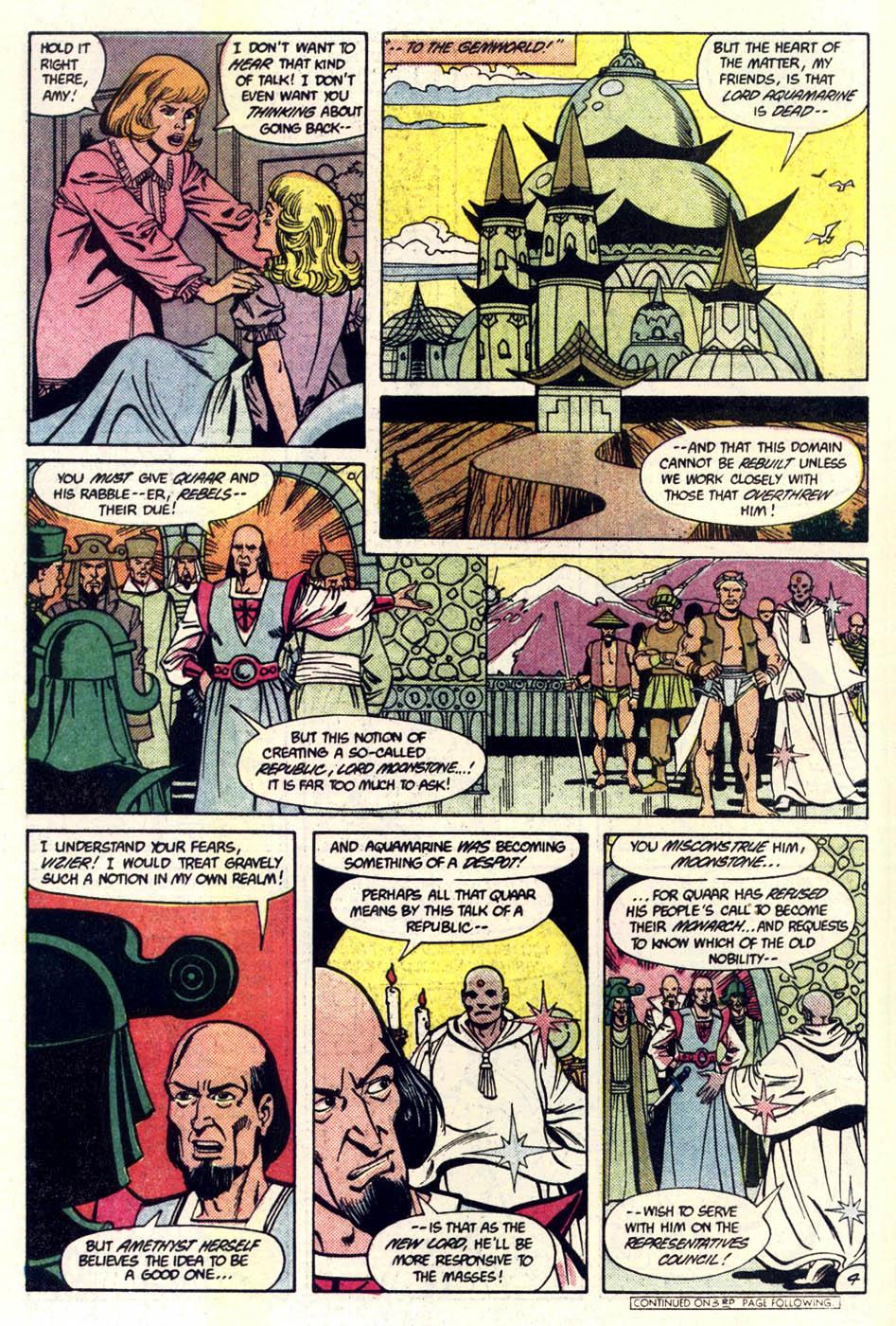Read online Amethyst (1985) comic -  Issue #4 - 5
