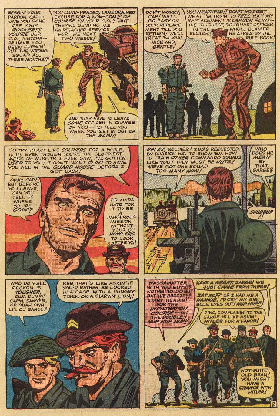 Read online Sgt. Fury comic -  Issue # _Special 2 - 42