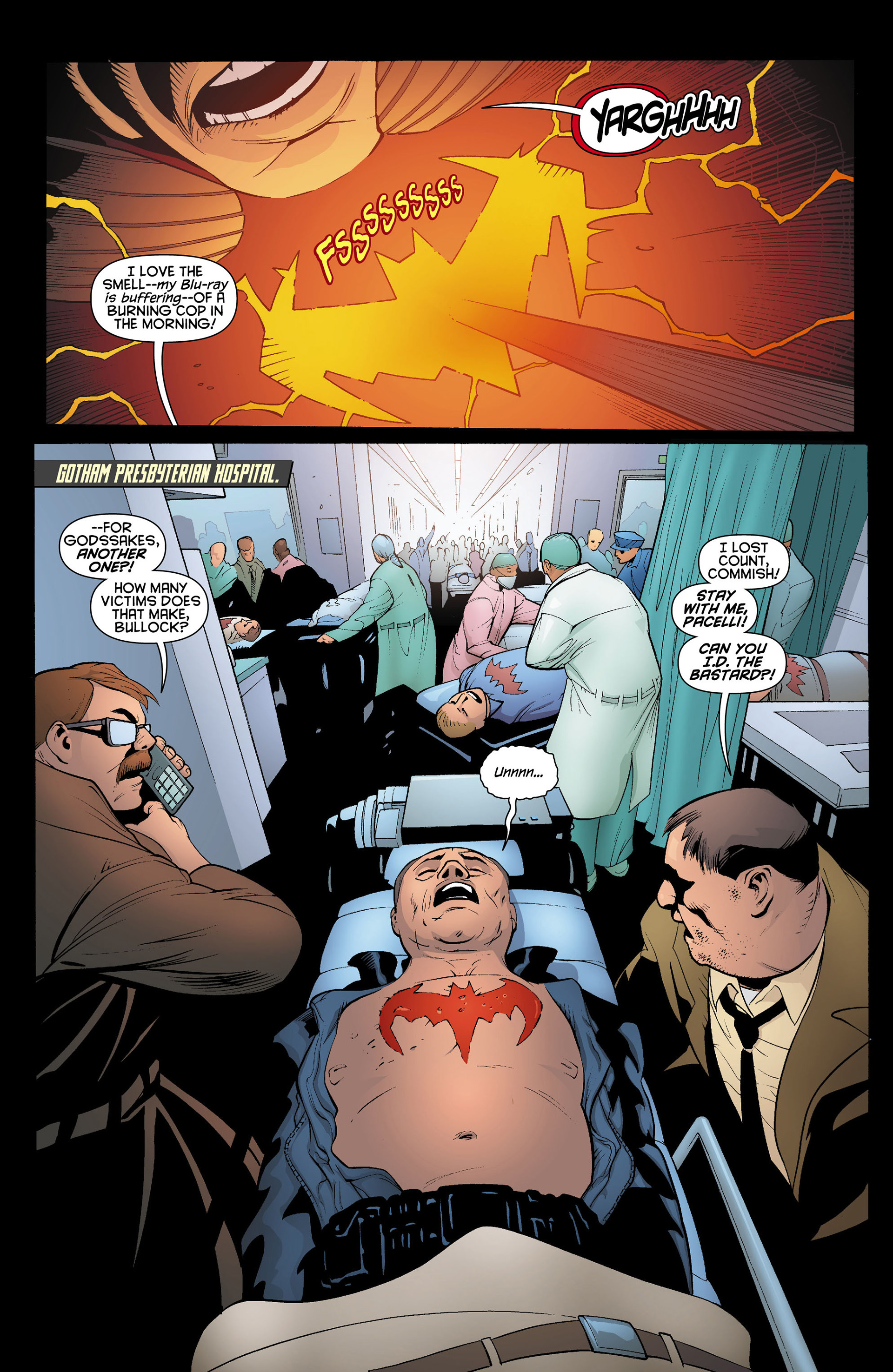 Read online Batman and Robin (2011) comic -  Issue #11 - 9