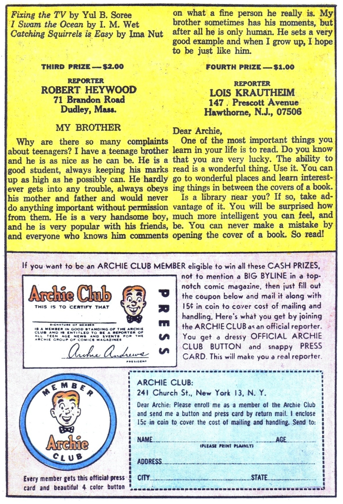 Read online Archie (1960) comic -  Issue #153 - 11