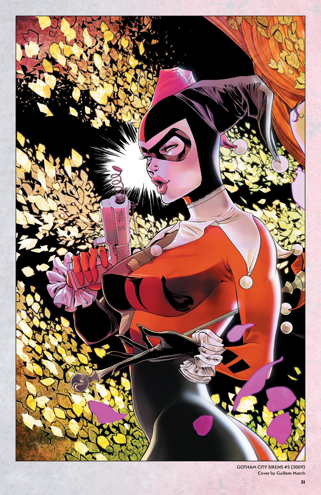 Read online Harley Quinn: A Rogue's Gallery―The Deluxe Cover Art Collection comic -  Issue # TPB (Part 1) - 30