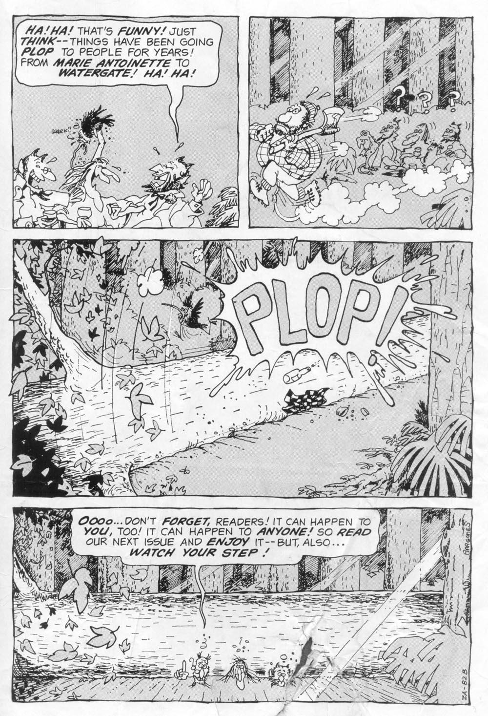 Read online Plop! comic -  Issue #2 - 35