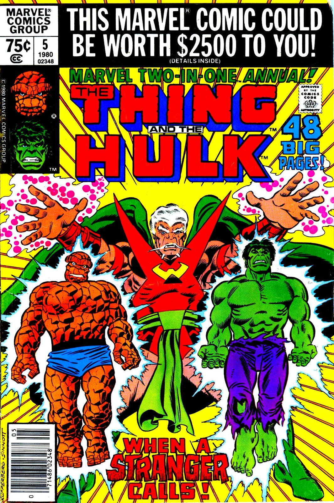 Marvel Two-In-One (1974) issue Annual 5 - Page 1