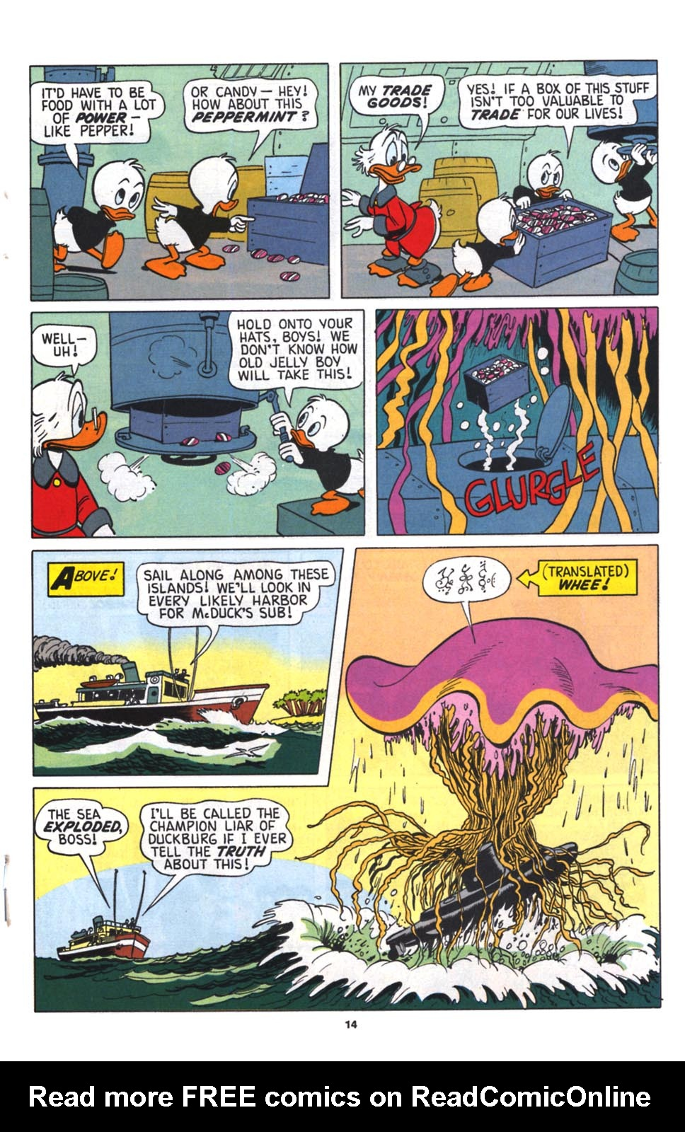 Read online Uncle Scrooge (1953) comic -  Issue #256 - 15