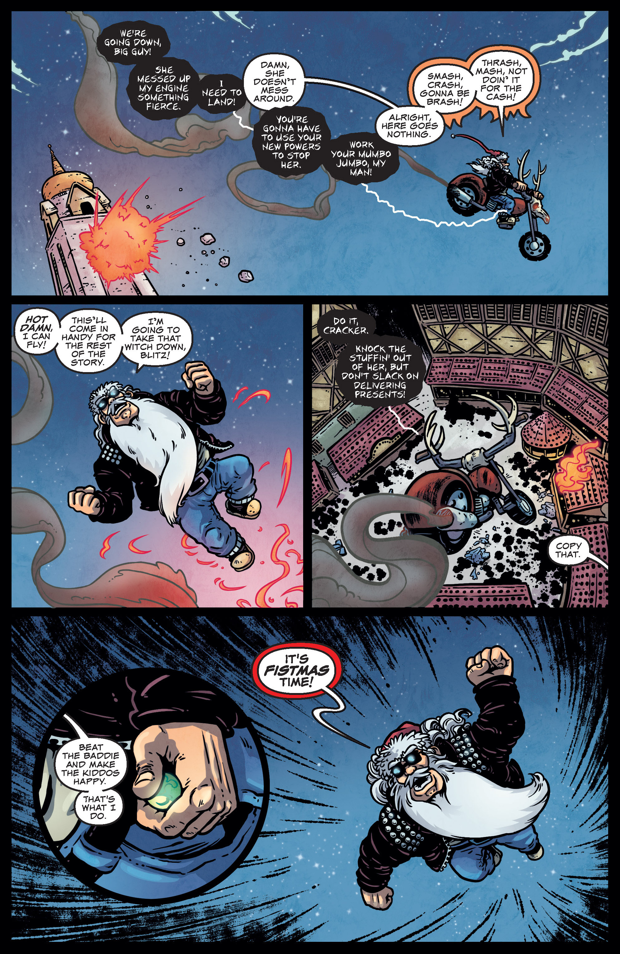 Read online Sleigher comic -  Issue #4 - 7