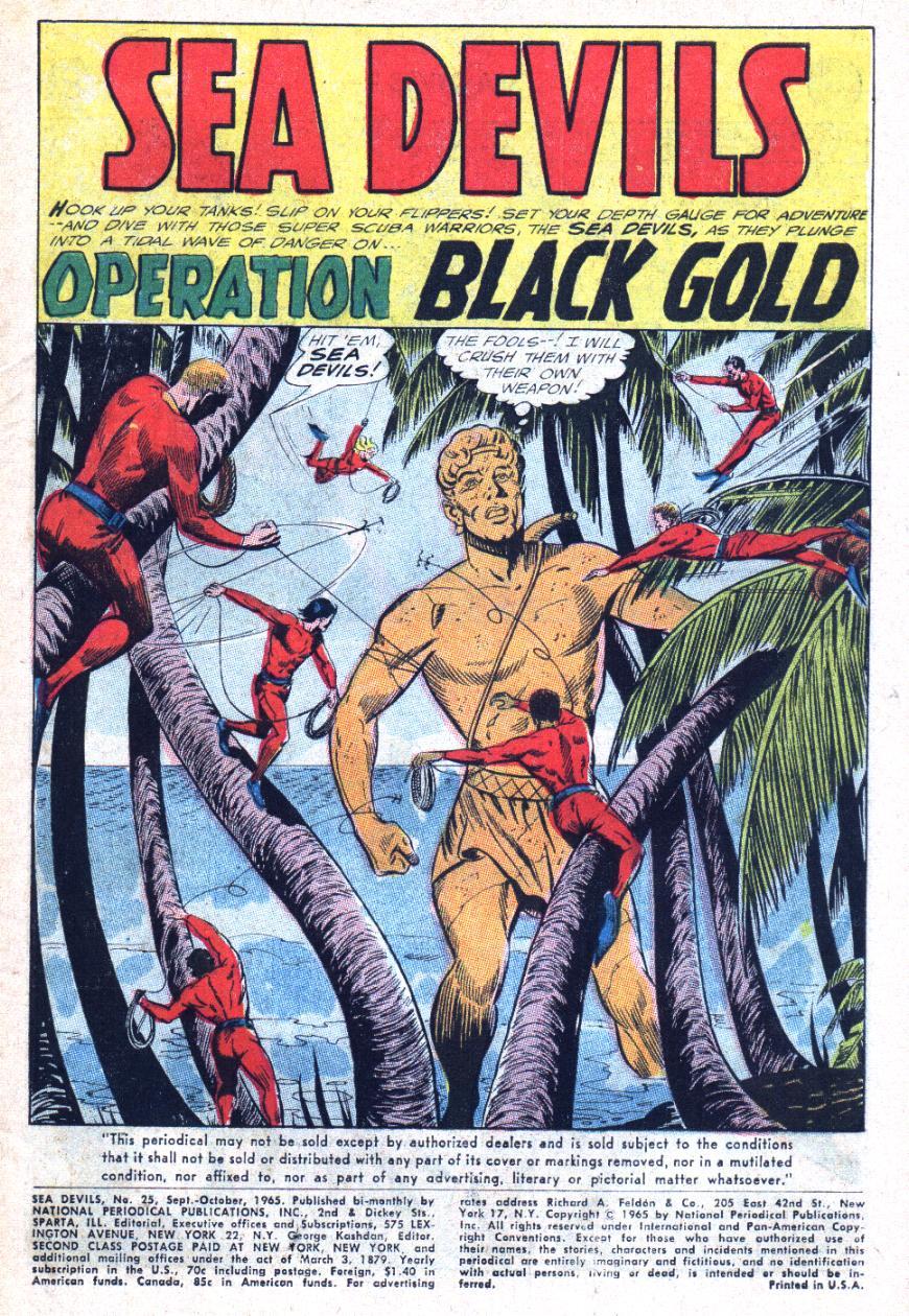 Read online Sea Devils comic -  Issue #25 - 4