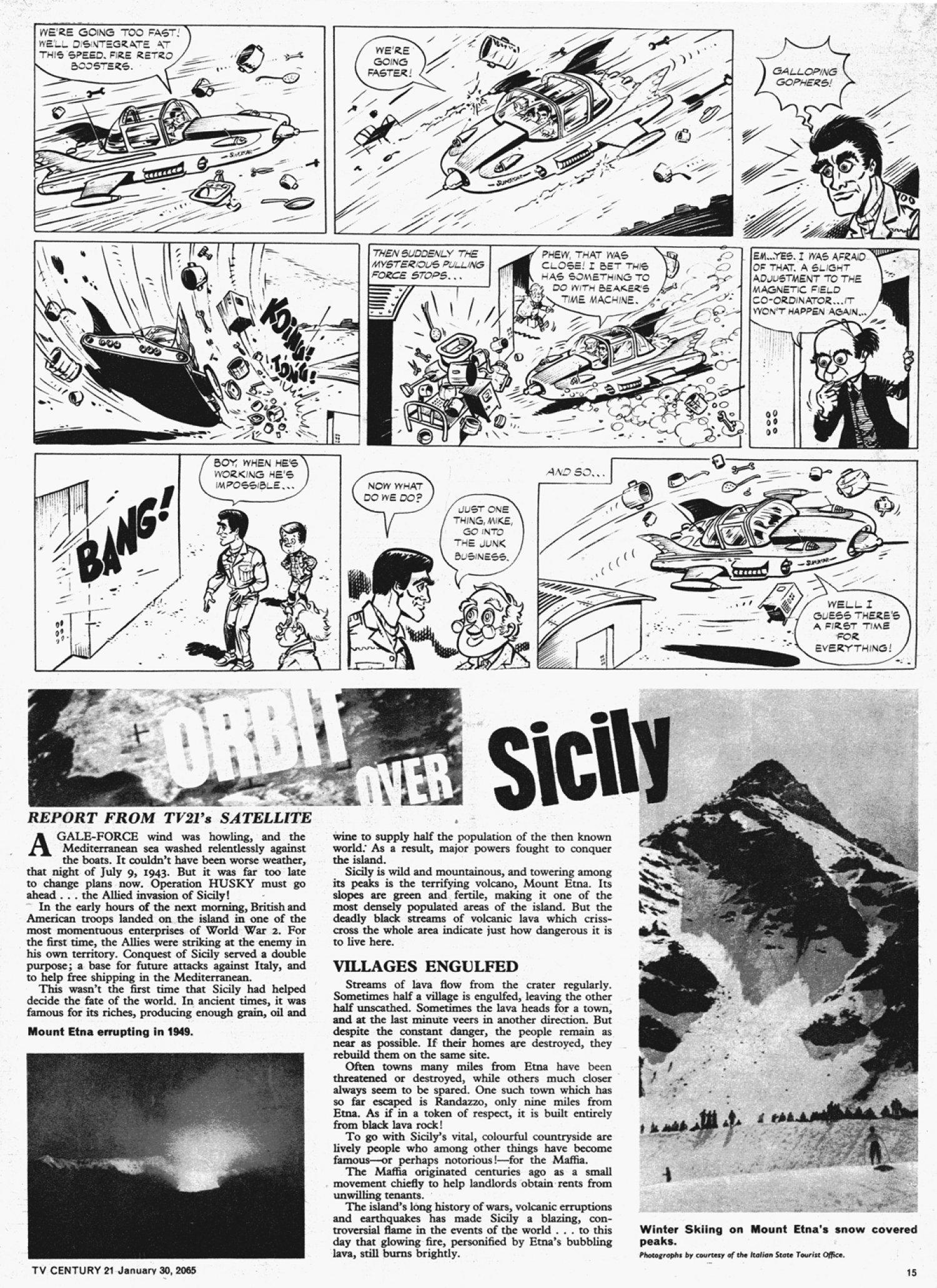 Read online TV Century 21 (TV 21) comic -  Issue #2 - 14