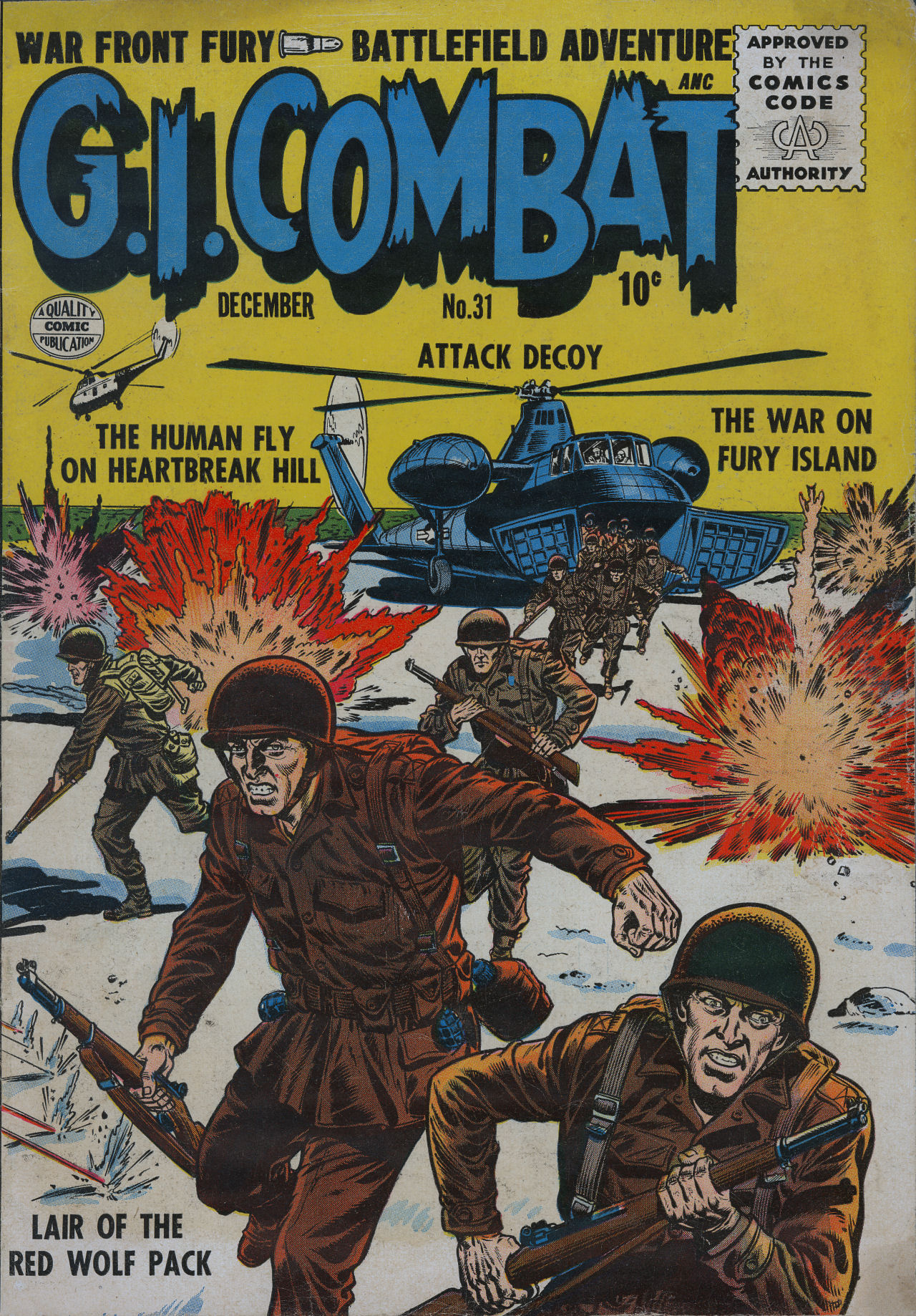 G.I. Combat (1952) 31 Page 1