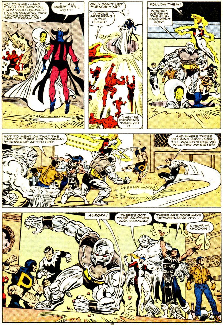 Read online Alpha Flight (1983) comic -  Issue # _Annual 1 - 31