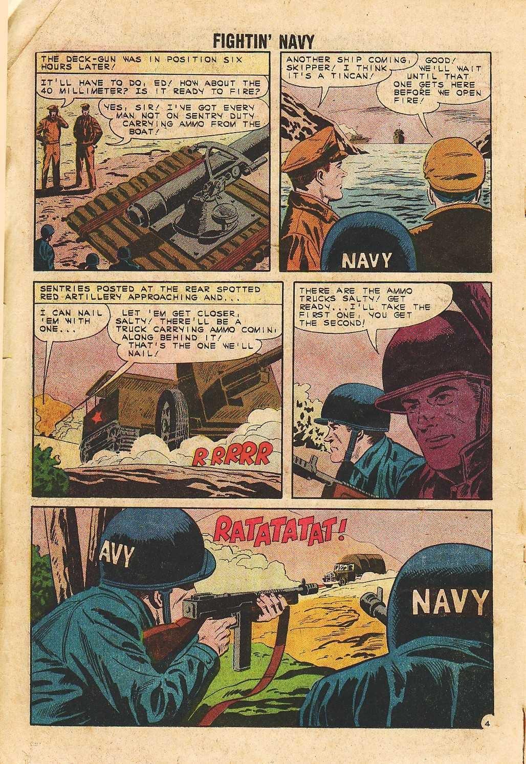 Read online Fightin' Navy comic -  Issue #105 - 18