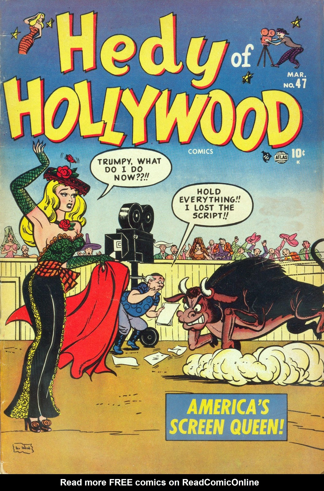 Hedy Of Hollywood Comics issue 47 - Page 1