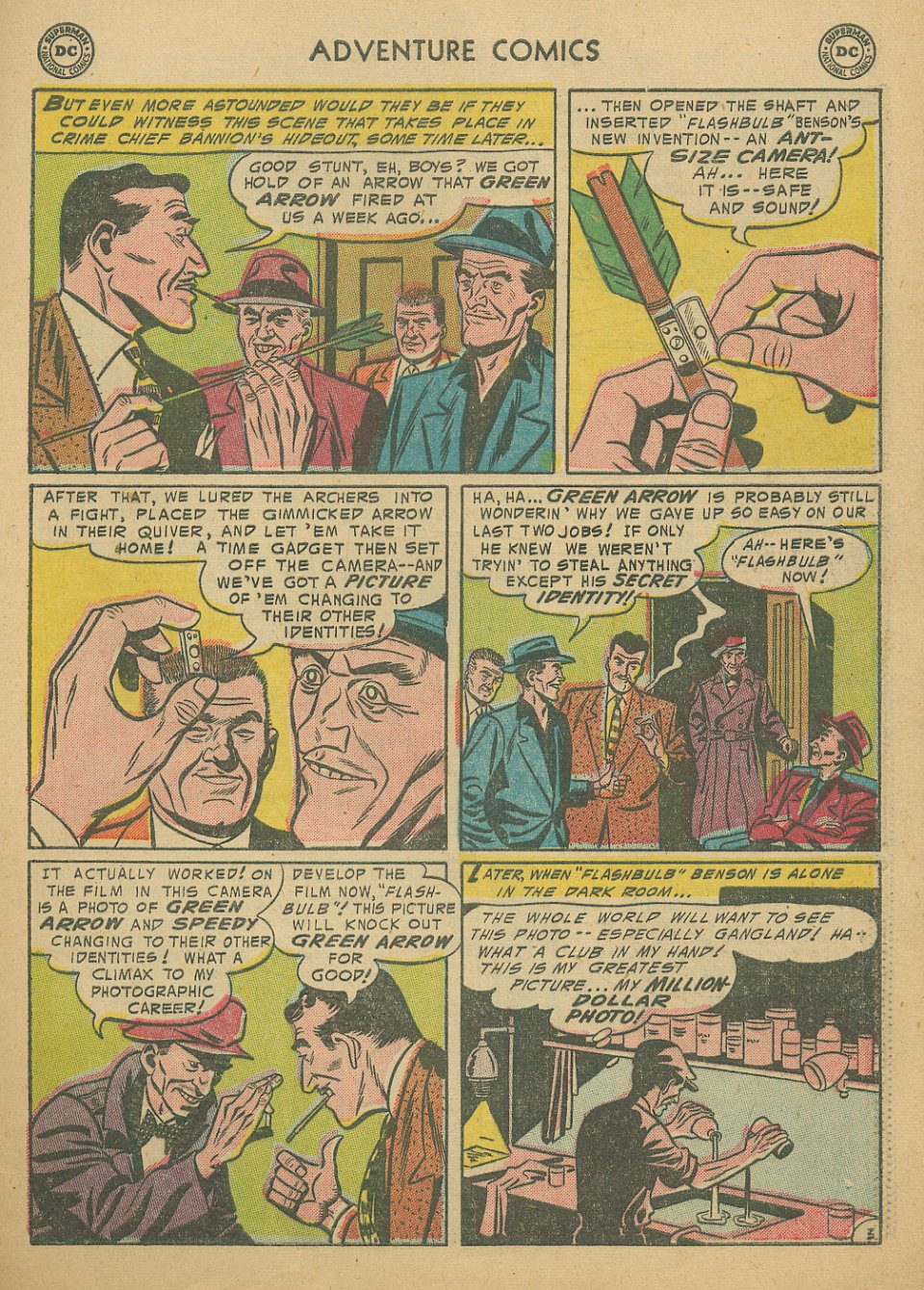 Read online Adventure Comics (1938) comic -  Issue #205 - 30