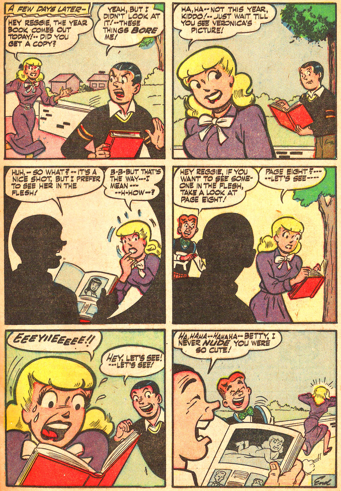 Read online Archie's Girls Betty and Veronica comic -  Issue #Archie's Girls Betty and Veronica Annual 1 - 7