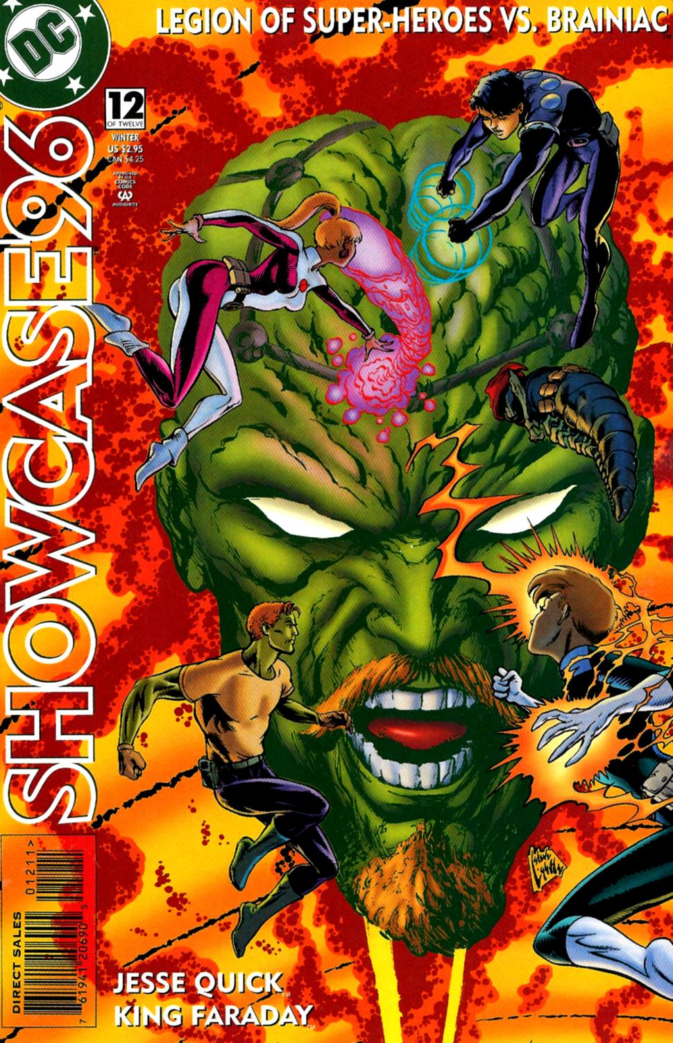 Read online Showcase '96 comic -  Issue #12 - 1