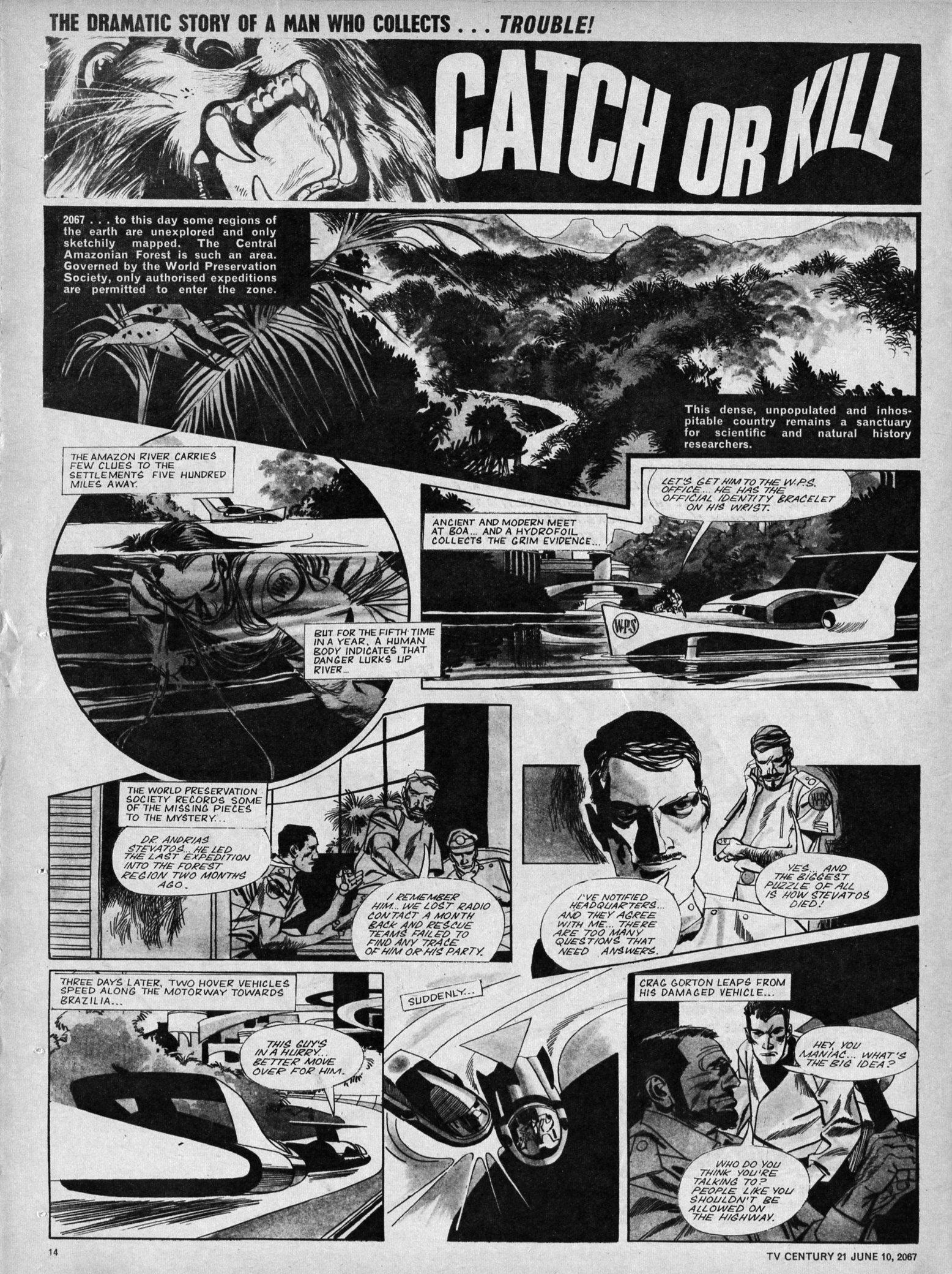 Read online TV Century 21 (TV 21) comic -  Issue #125 - 13