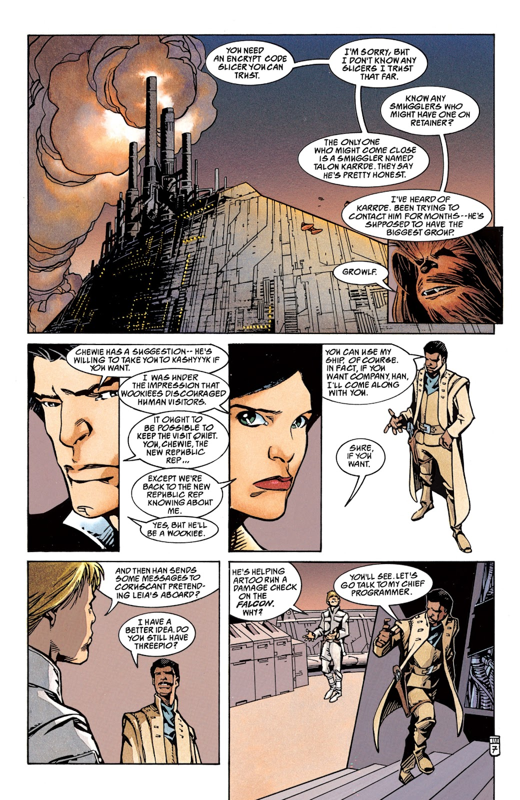 Read online Star Wars Legends: The New Republic - Epic Collection comic -  Issue # TPB 4 (Part 1) - 63