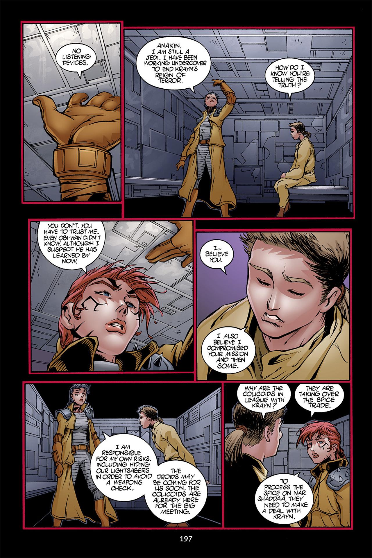 Read online Star Wars Omnibus comic -  Issue # Vol. 10 - 196