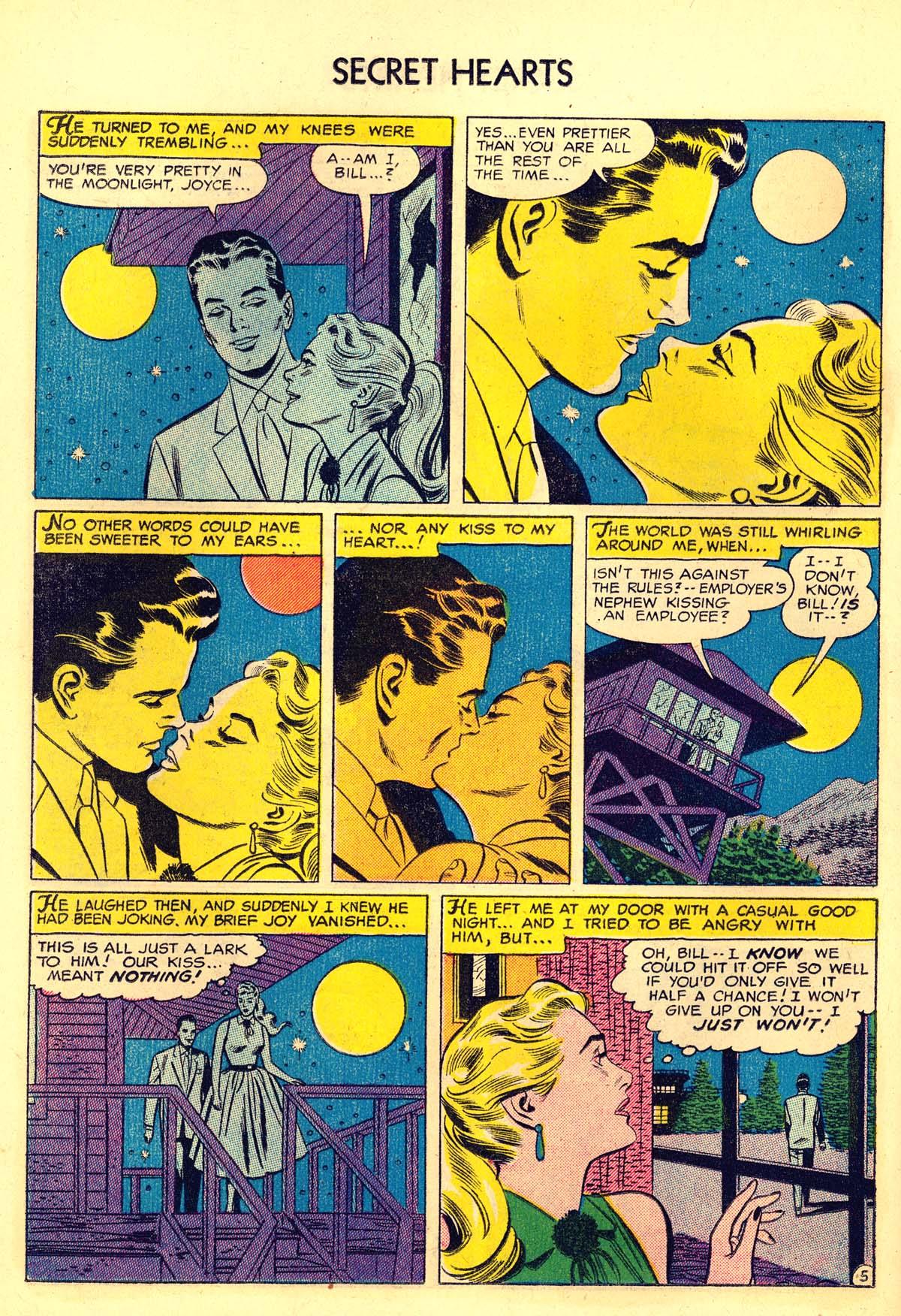 Read online Secret Hearts comic -  Issue #34 - 22