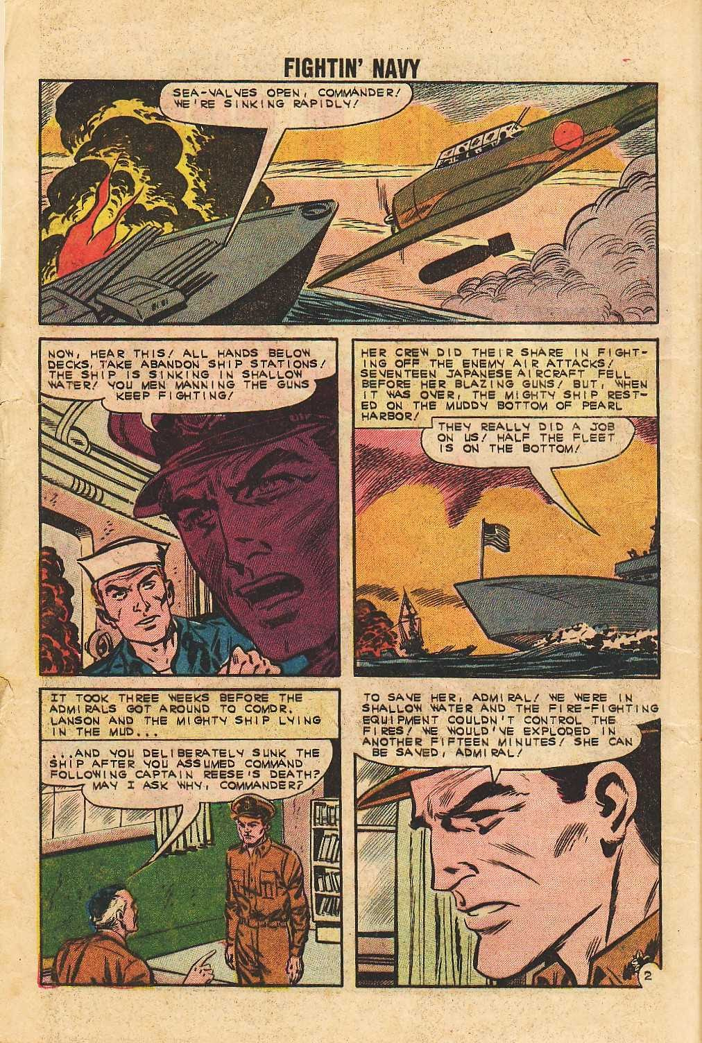 Read online Fightin' Navy comic -  Issue #105 - 4