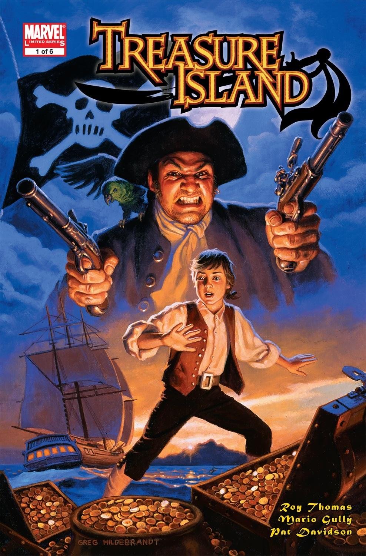 Read online Treasure Island comic -  Issue #1 - 1