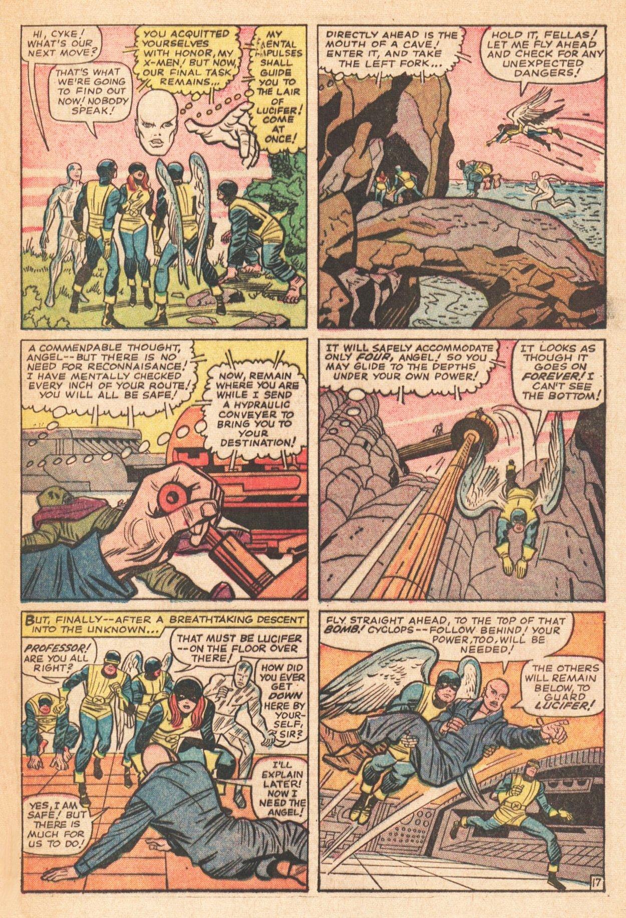 Read online Uncanny X-Men (1963) comic -  Issue # _Annual 1 - 22