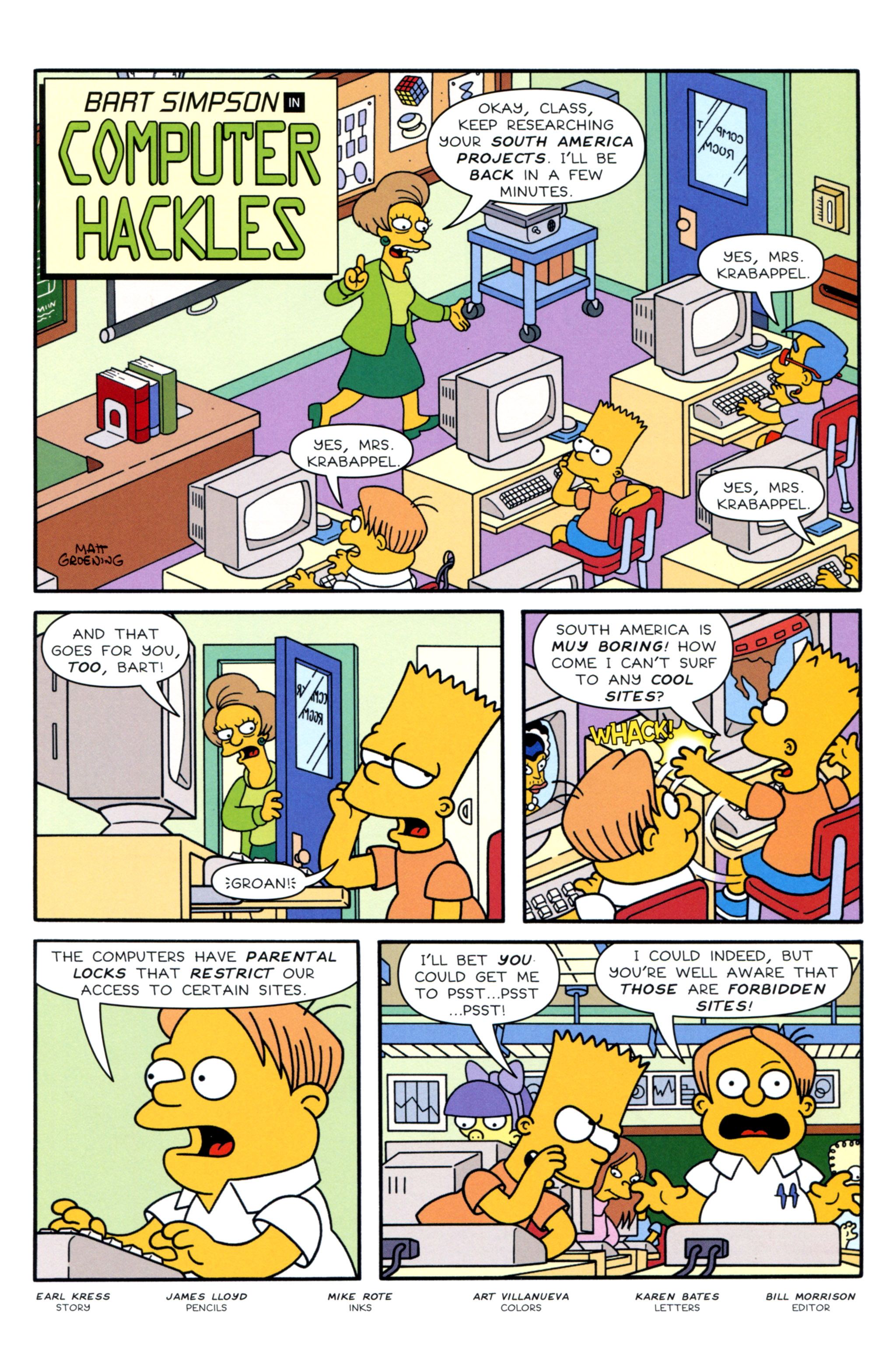 Read online Simpsons Illustrated (2012) comic -  Issue #12 - 45