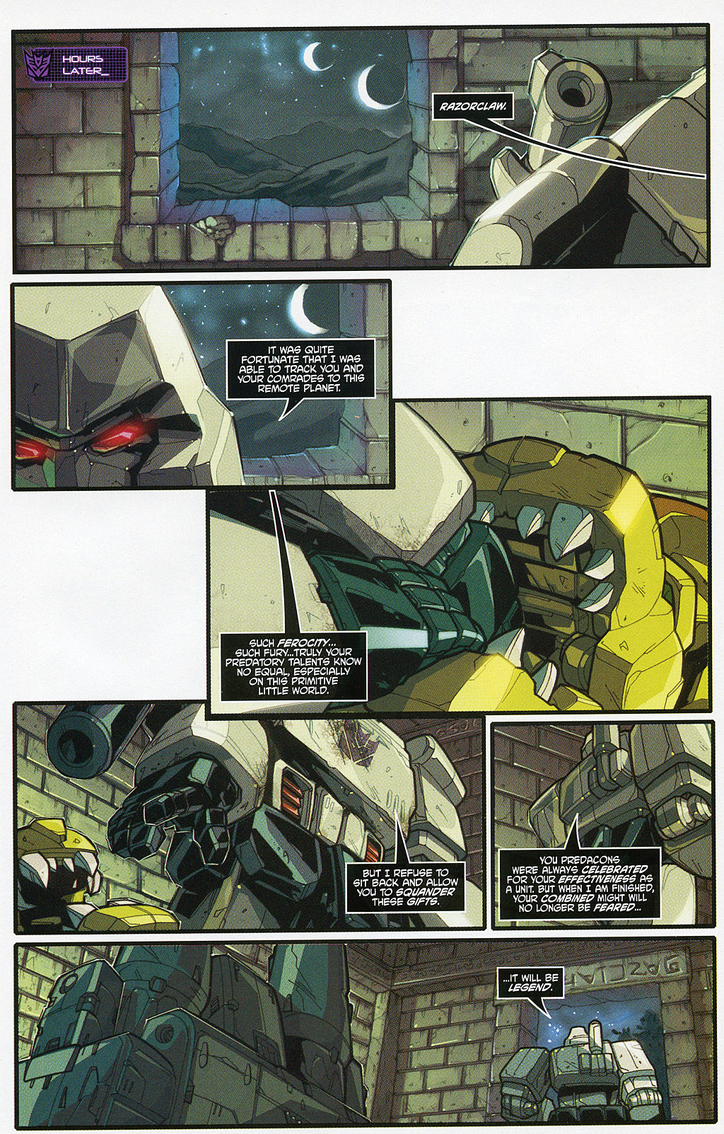 Read online Transformers 20th Anniversary Summer Special comic -  Issue # Full - 10