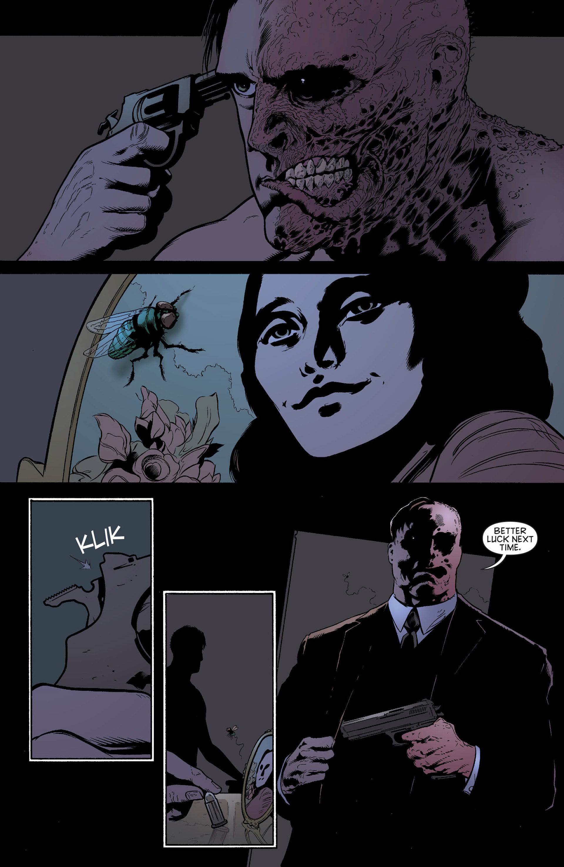 Read online Batman and Robin (2011) comic -  Issue #24 - Batman and Two-Face - 4