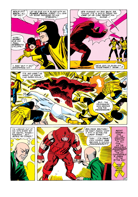 Uncanny X-Men (1963) 12 Page 20