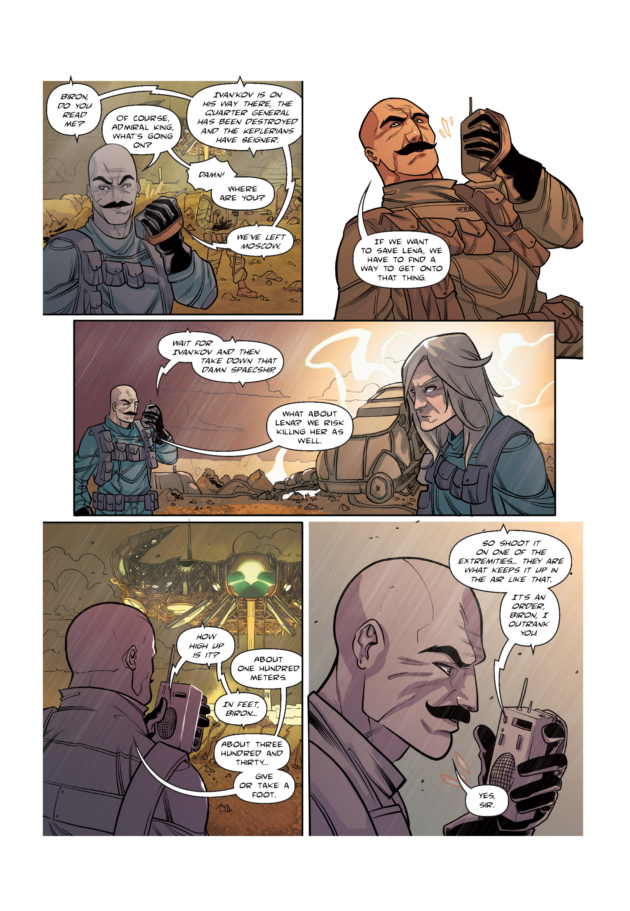 Read online The Shadow of a Terrible Thing comic -  Issue # TPB - 104