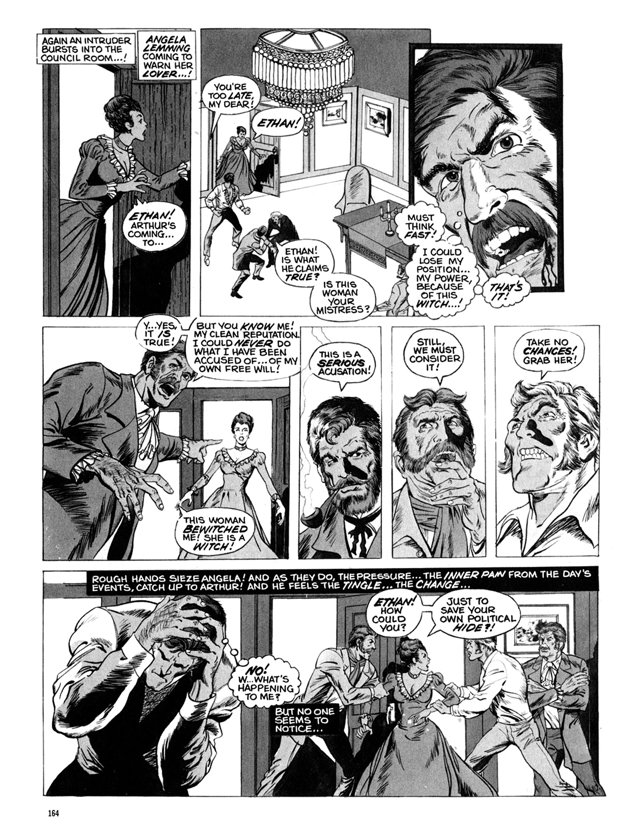 Read online Eerie Archives comic -  Issue # TPB 10 - 165
