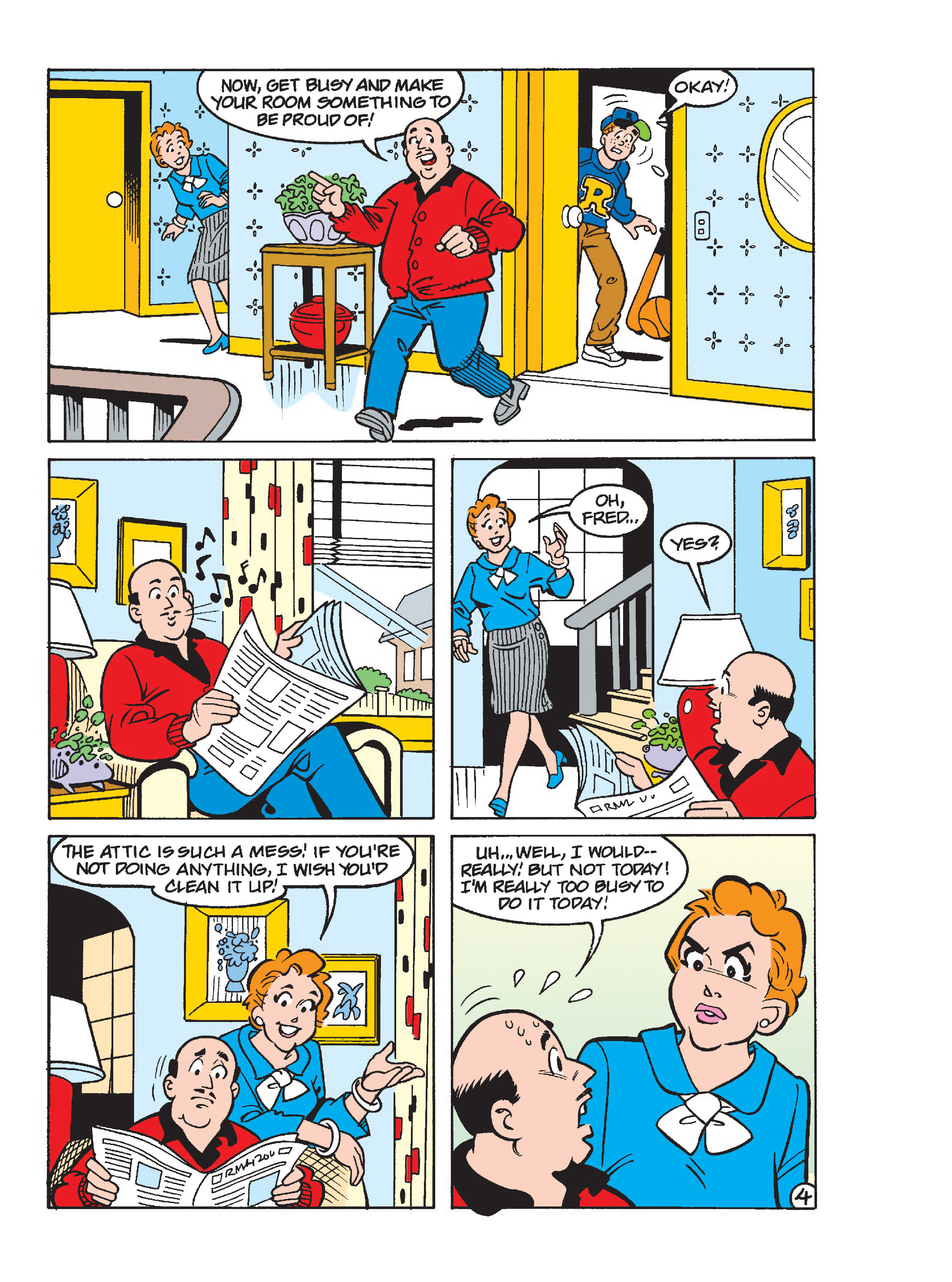 Read online Archie's Funhouse Double Digest comic -  Issue #23 - 144