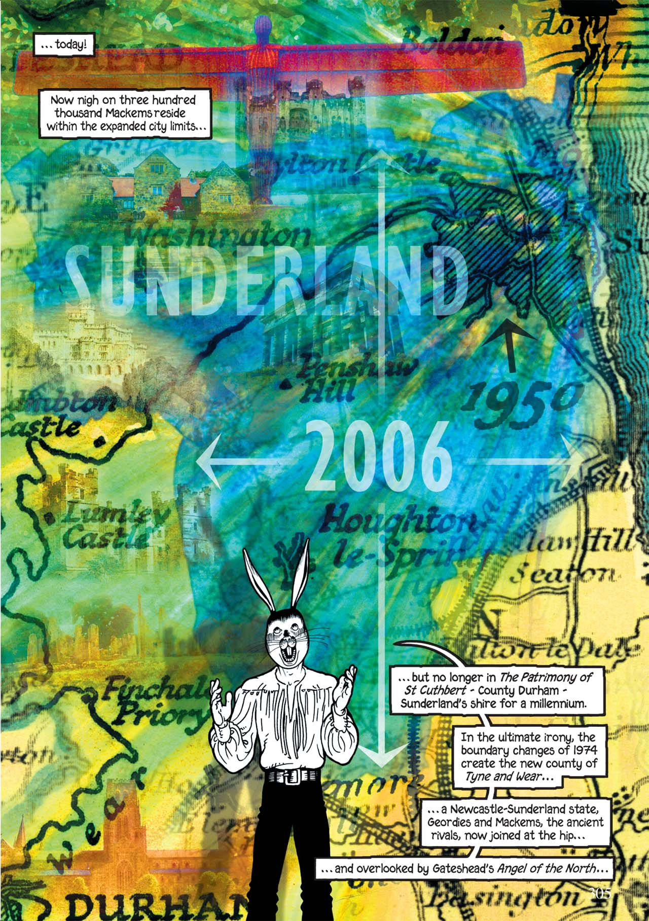 Read online Alice in Sunderland comic -  Issue # Full - 309
