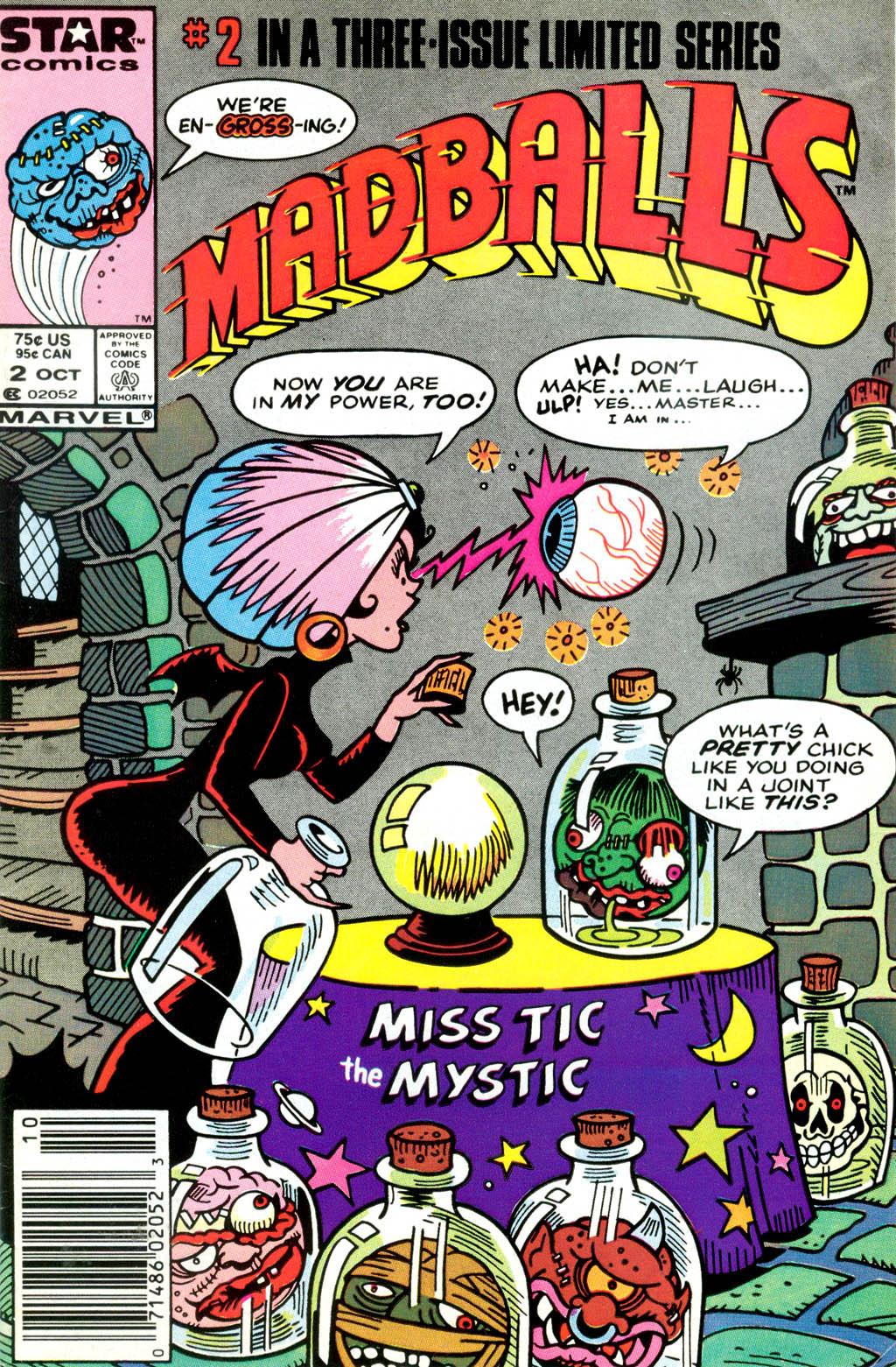 Madballs issue 2 - Page 1