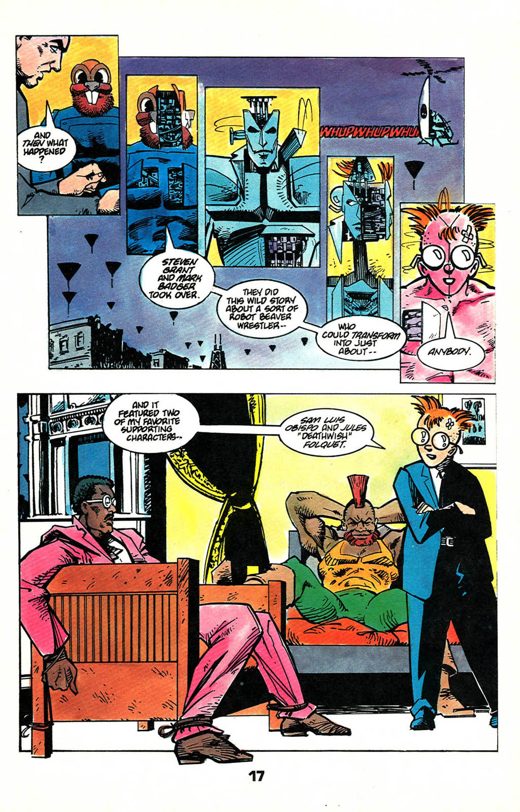 Read online American Flagg! comic -  Issue #46 - 21