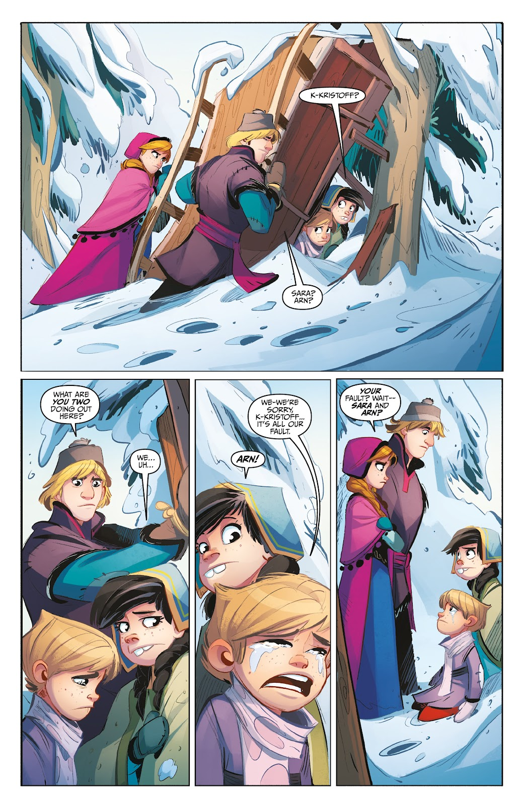 Read online Disney Frozen: The Hero Within comic -  Issue #2 - 13