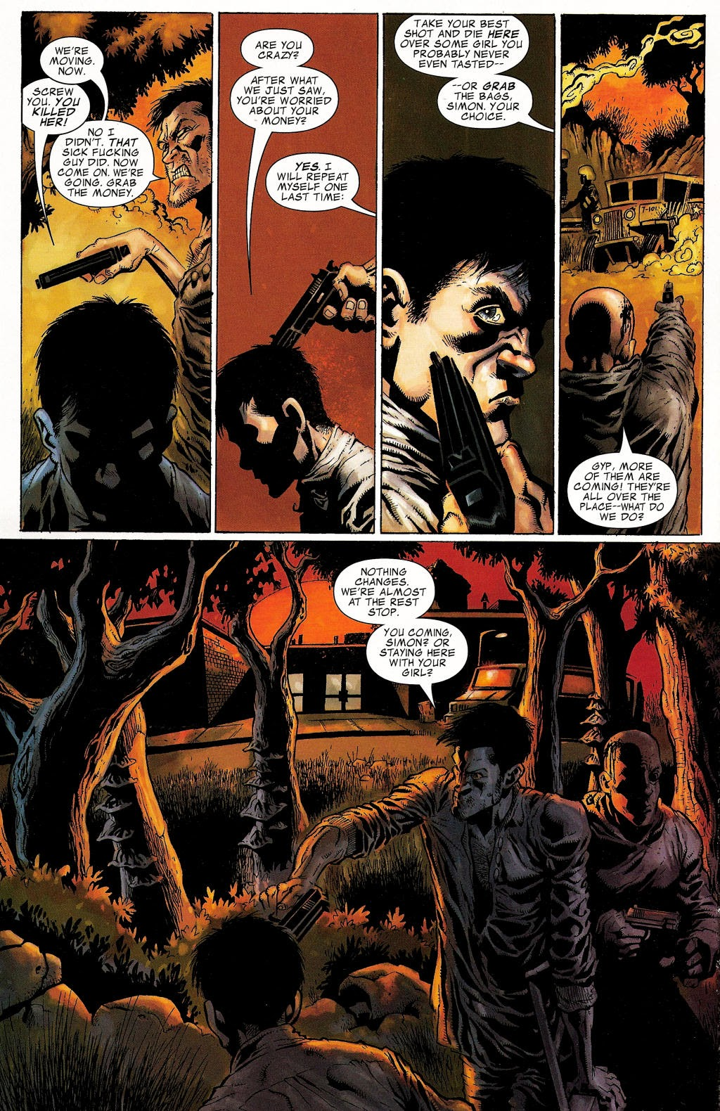 Read online Zombie (2006) comic -  Issue #1 - 16